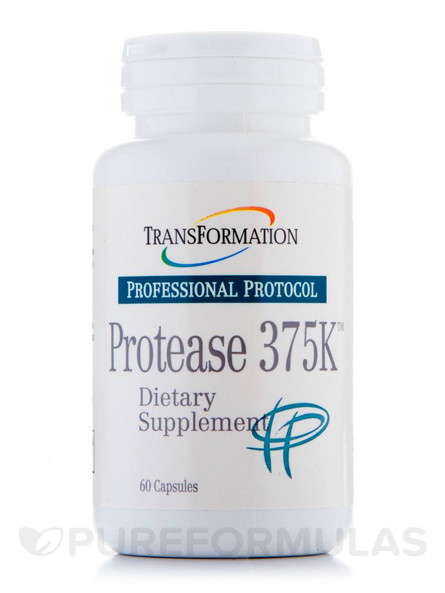 Protease 375K - 60 Capsules