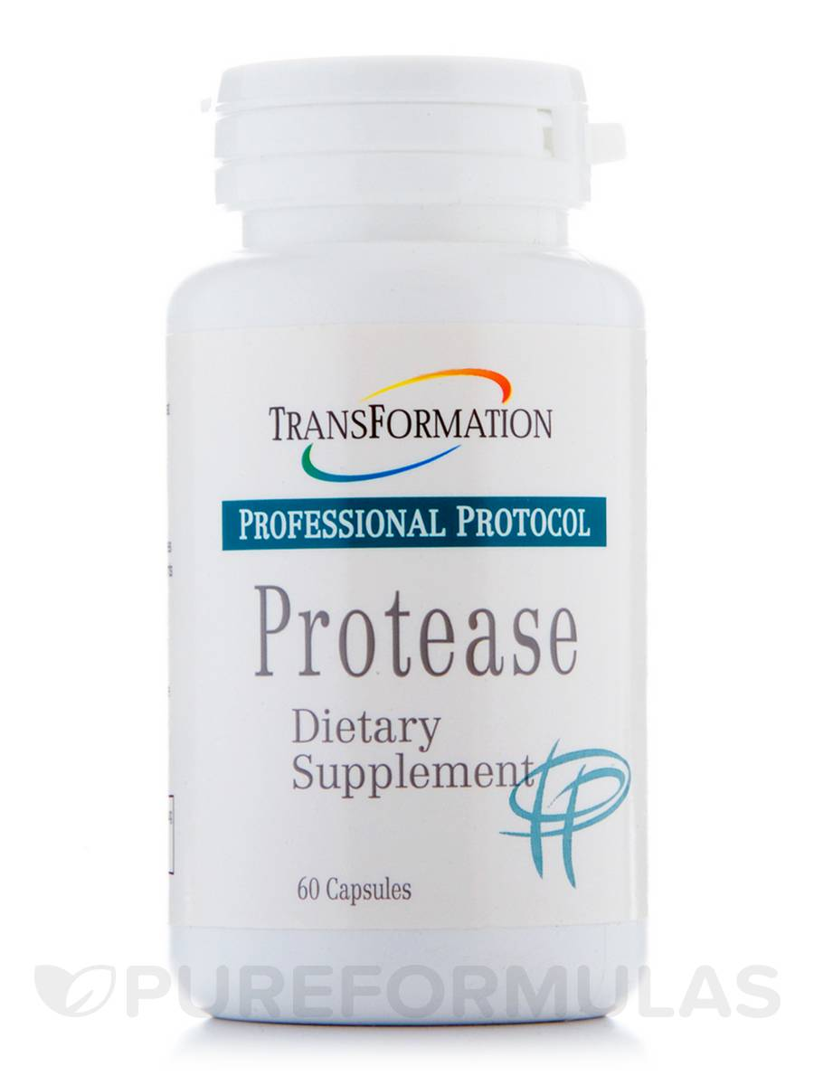 Protease - 60 Capsules
