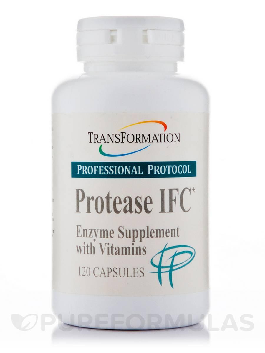 Protease IFC - 120 Capsules