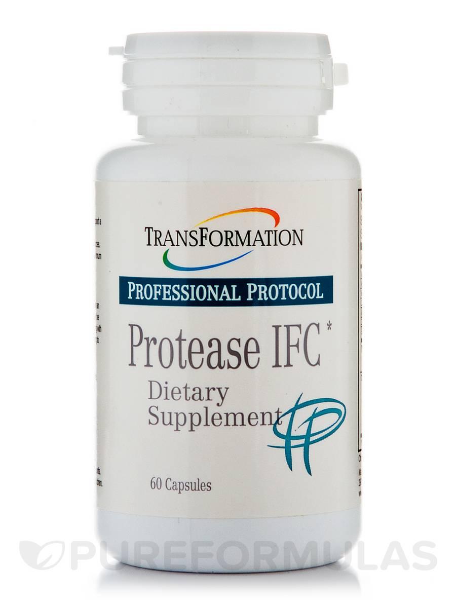Protease IFC - 60 Capsules