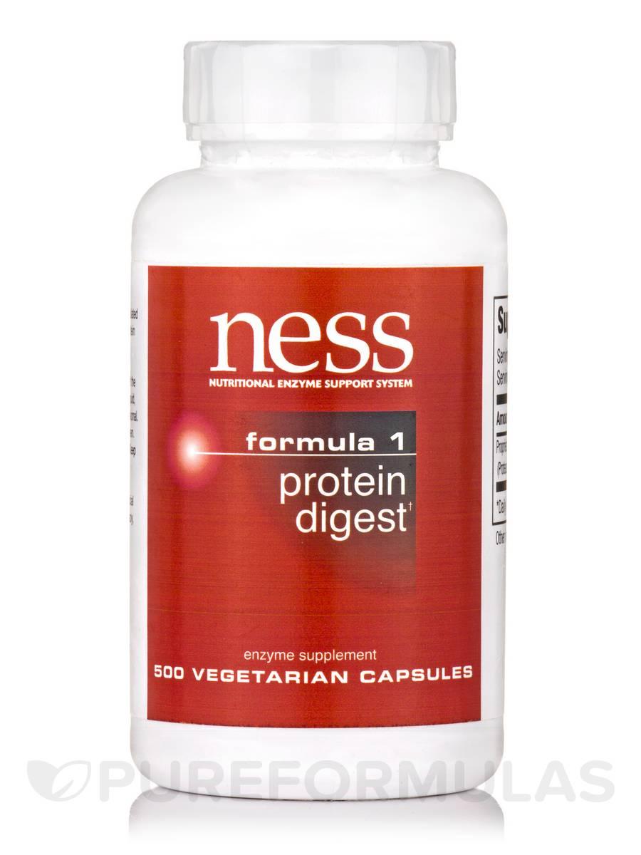 Protein Digest (Formula 1) - 500 Vegetarian Capsules