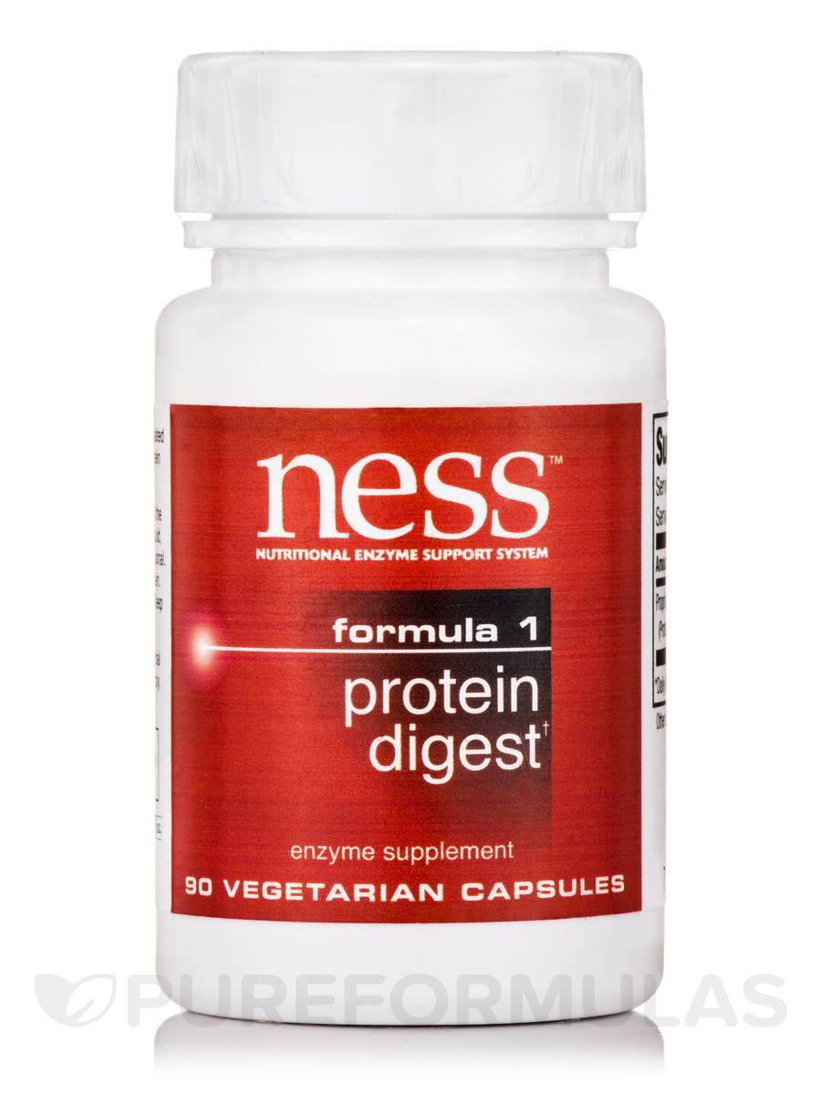 Protein Digest (Formula 1) - 90 Vegetarian Capsules