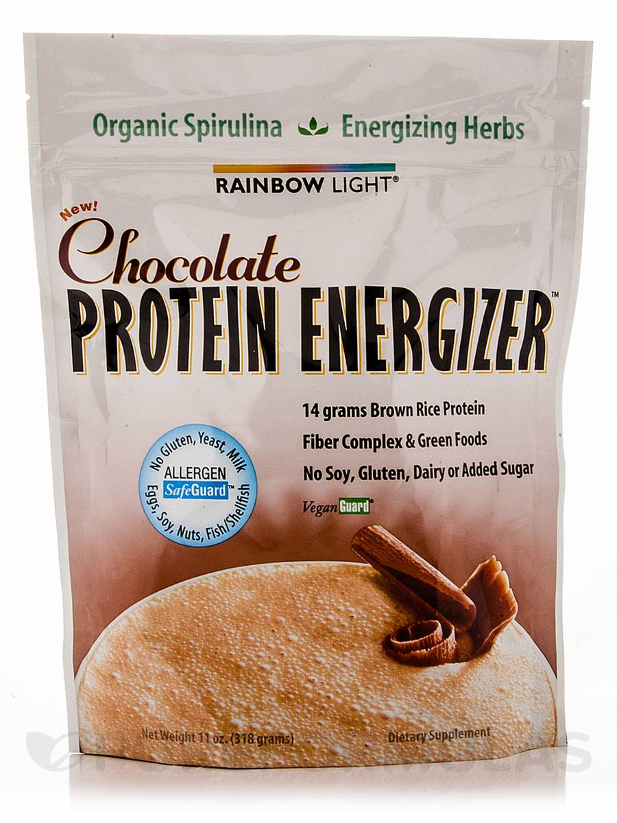 Protein Energizer™ Chocolate Flavor - 11 oz (318 Grams)