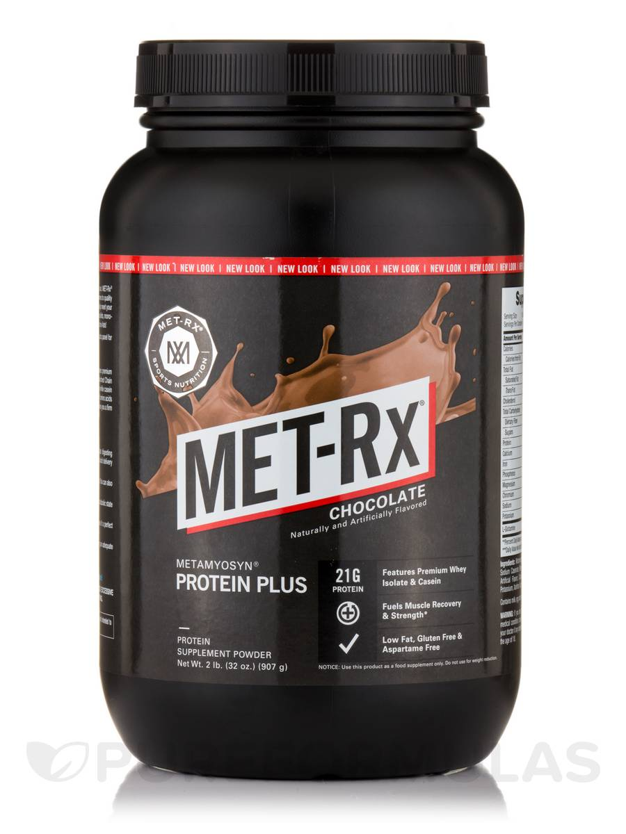 Protein Plus Powder, Chocolate Flavor - 32 oz (907 Grams)
