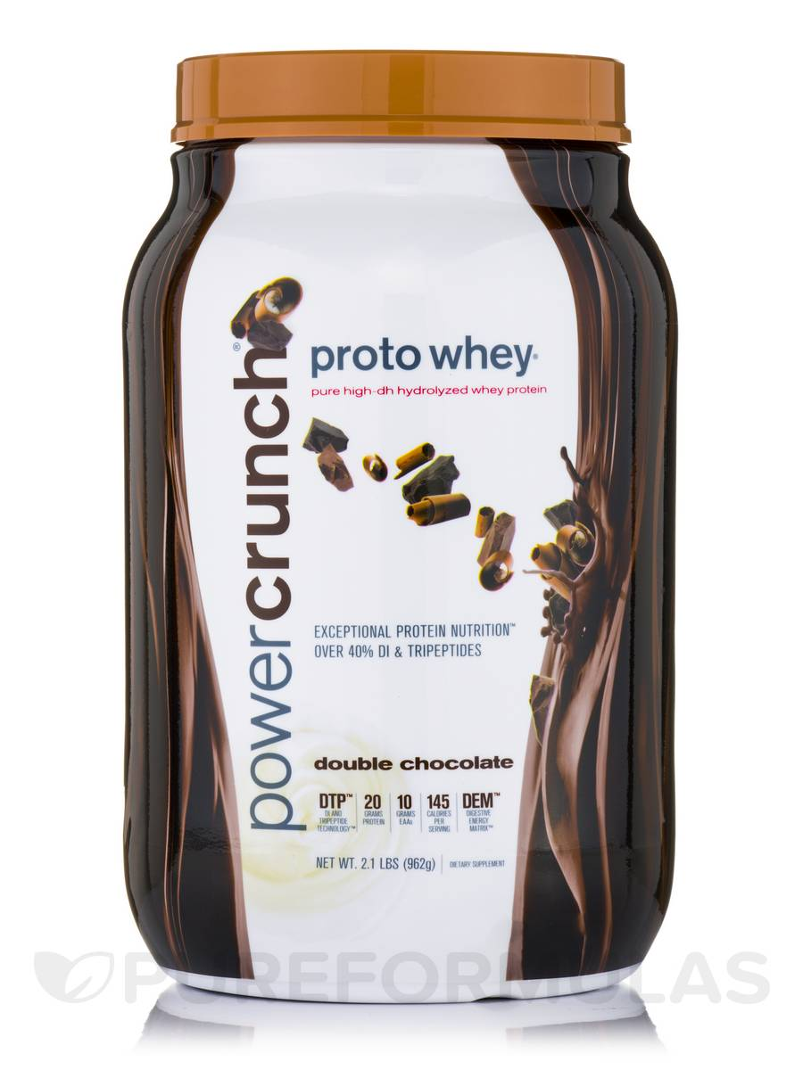 Proto Whey Protein Powder, Double Chocolate - 2.1 lbs (962 Grams)
