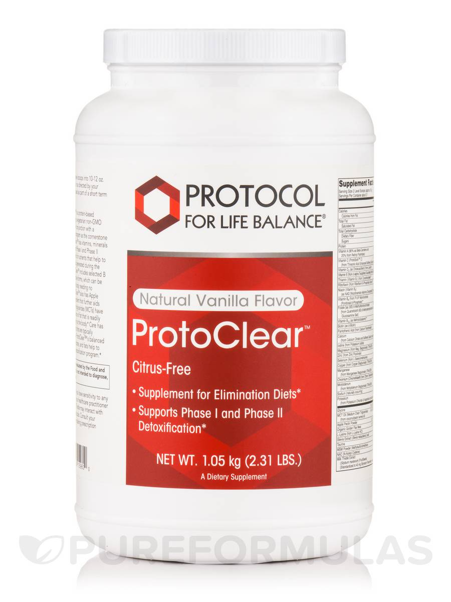 ProtoClear™ Powder Natural Vanilla Flavor (Citrus-Free) - 2.31 lb (1050 Grams)