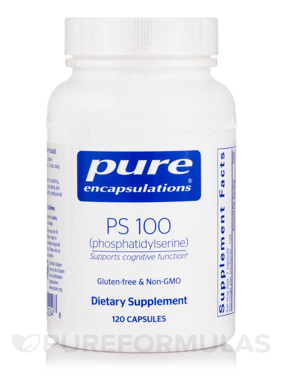 PS 100 (phosphatidylserine) - 120 Capsules
