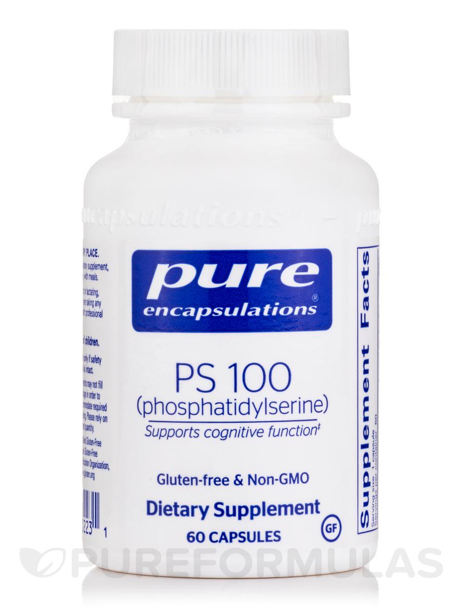 PS 100 (phosphatidylserine) - 60 Capsules