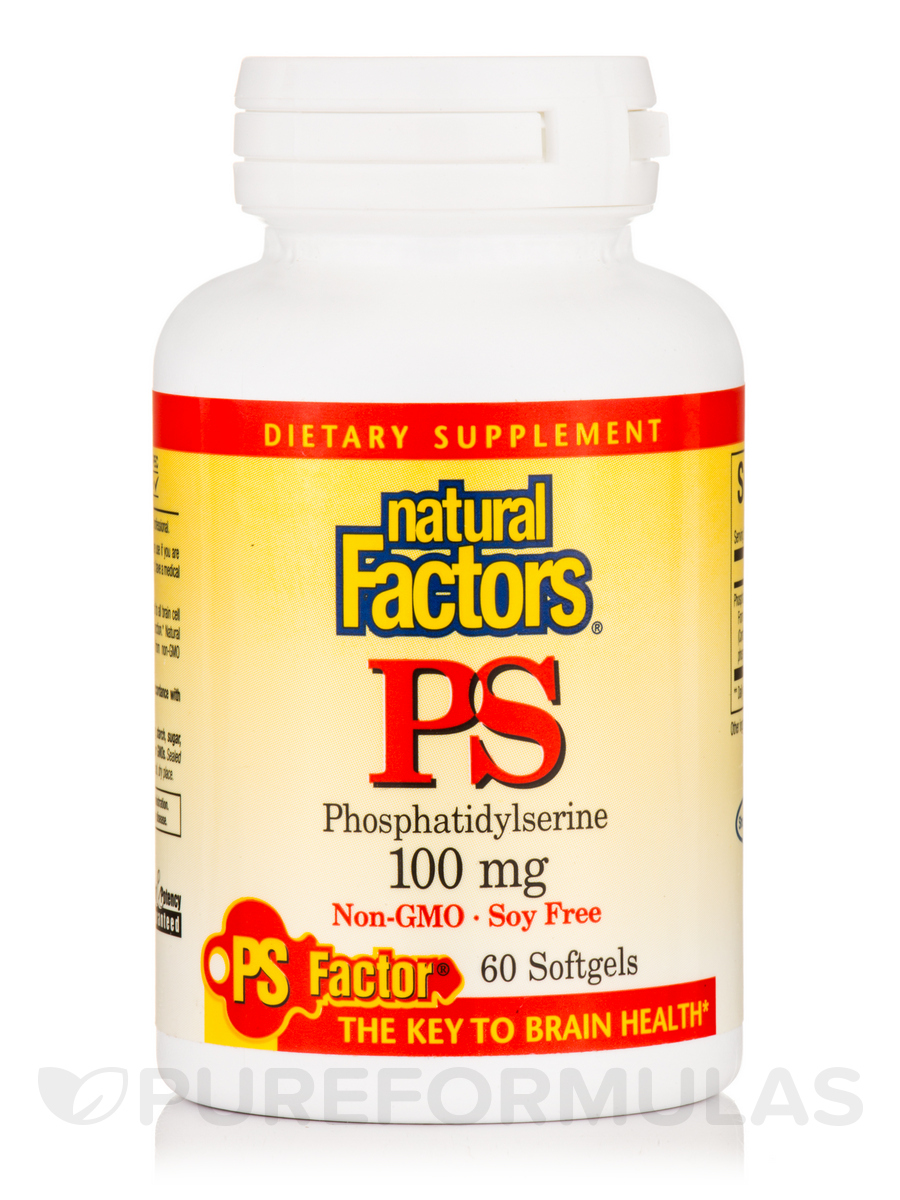 PS (Phosphatidylserine) 100 mg - 60 Softgels