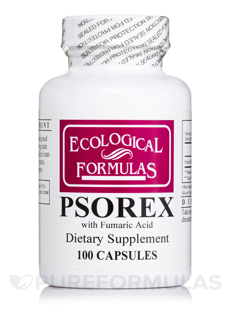 Psorex with Fumaric Acid - 100 Capsules