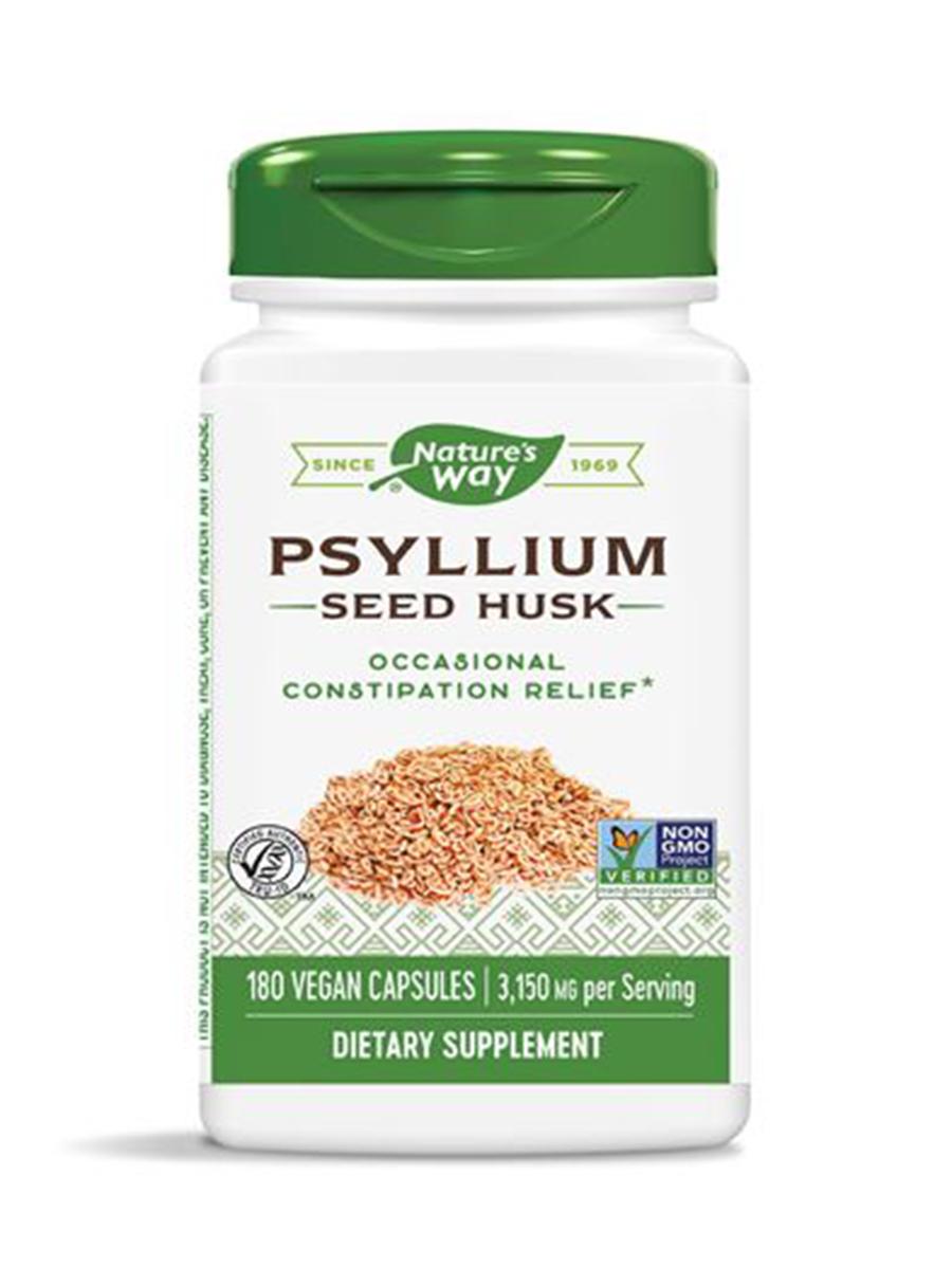 Psyllium Husks - 180 VCaps