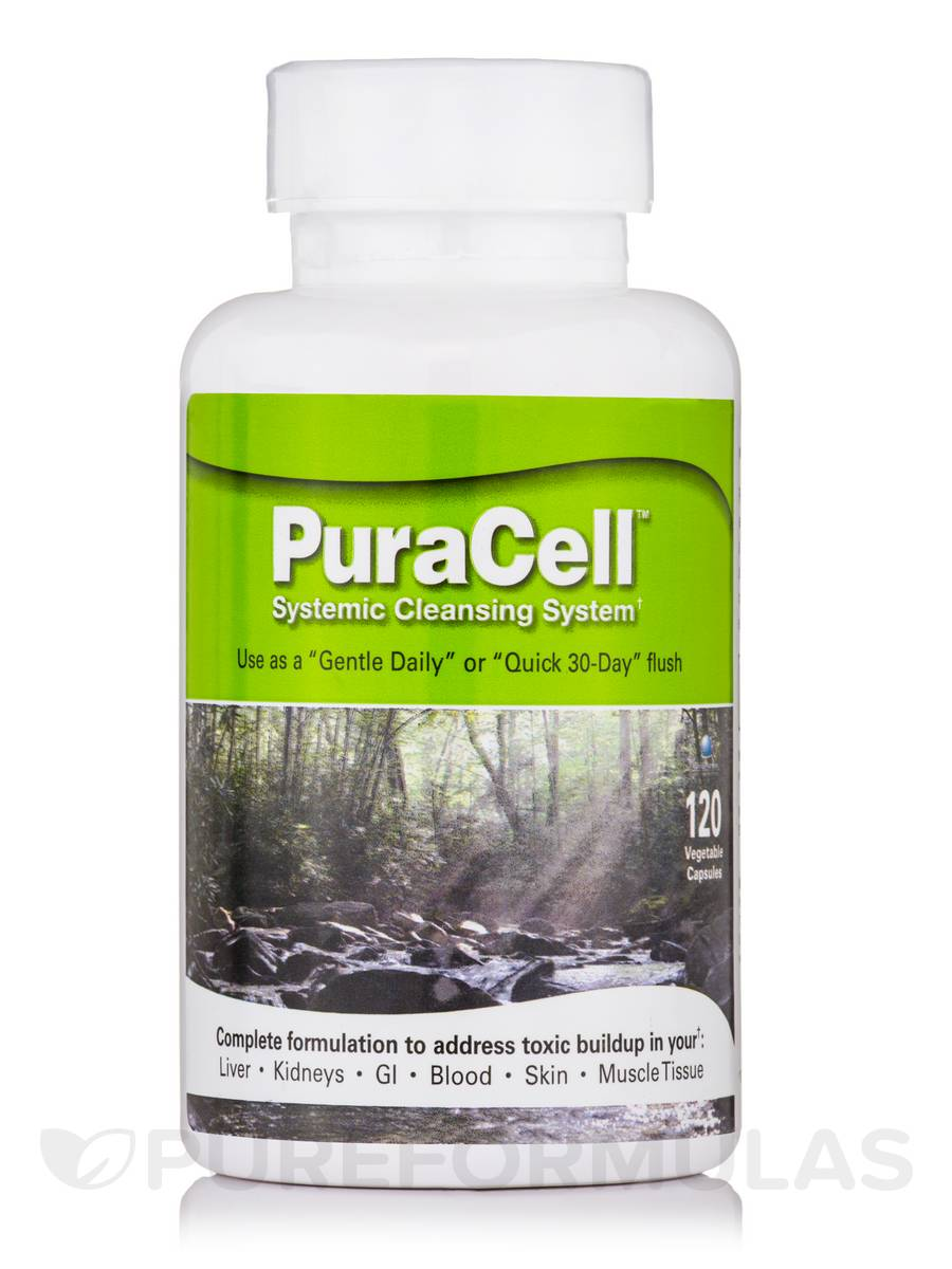 PuraCell - 120 Vegetable Capsules