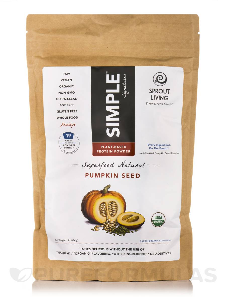 Pumpkin Seed Protein Powder - 16 oz (454 Grams)
