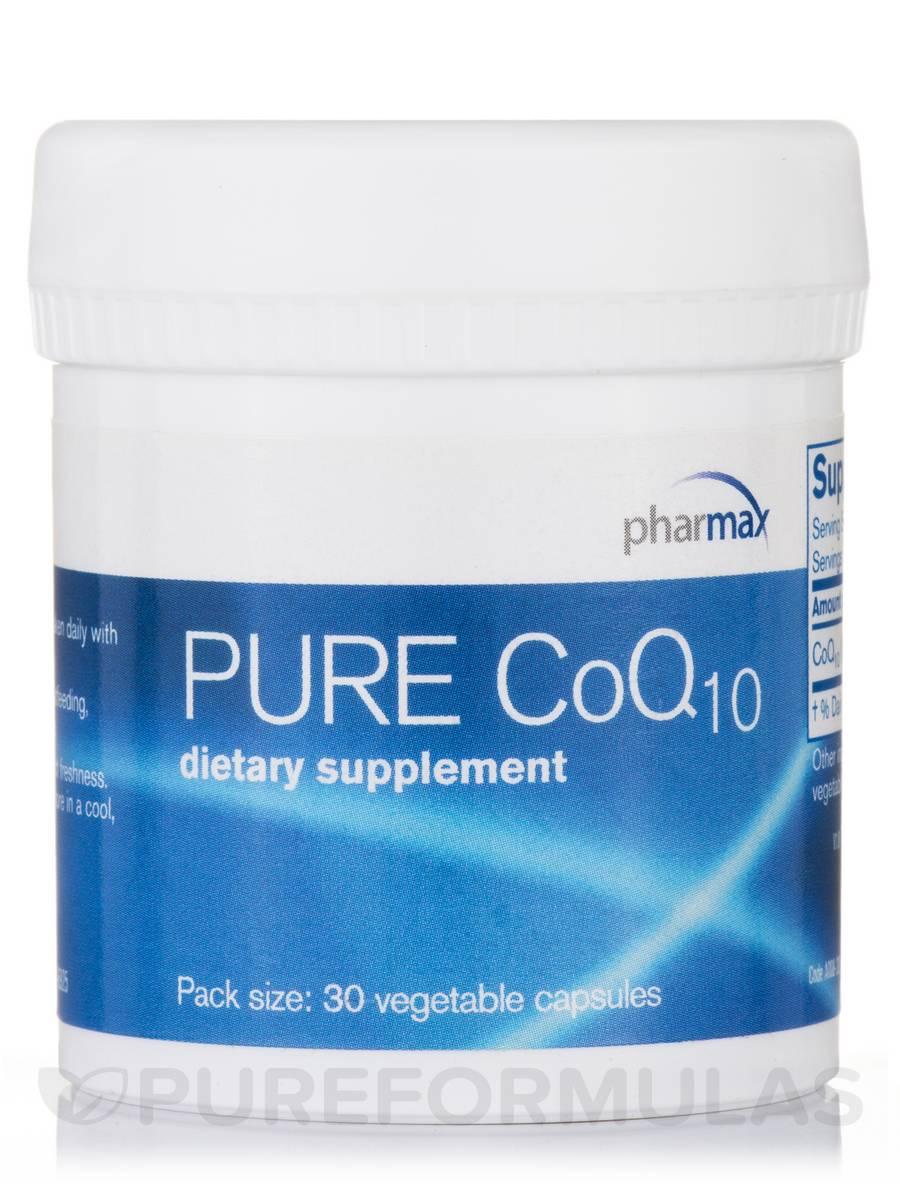 Pure CoQ10 - 30 Vegetable Capsules