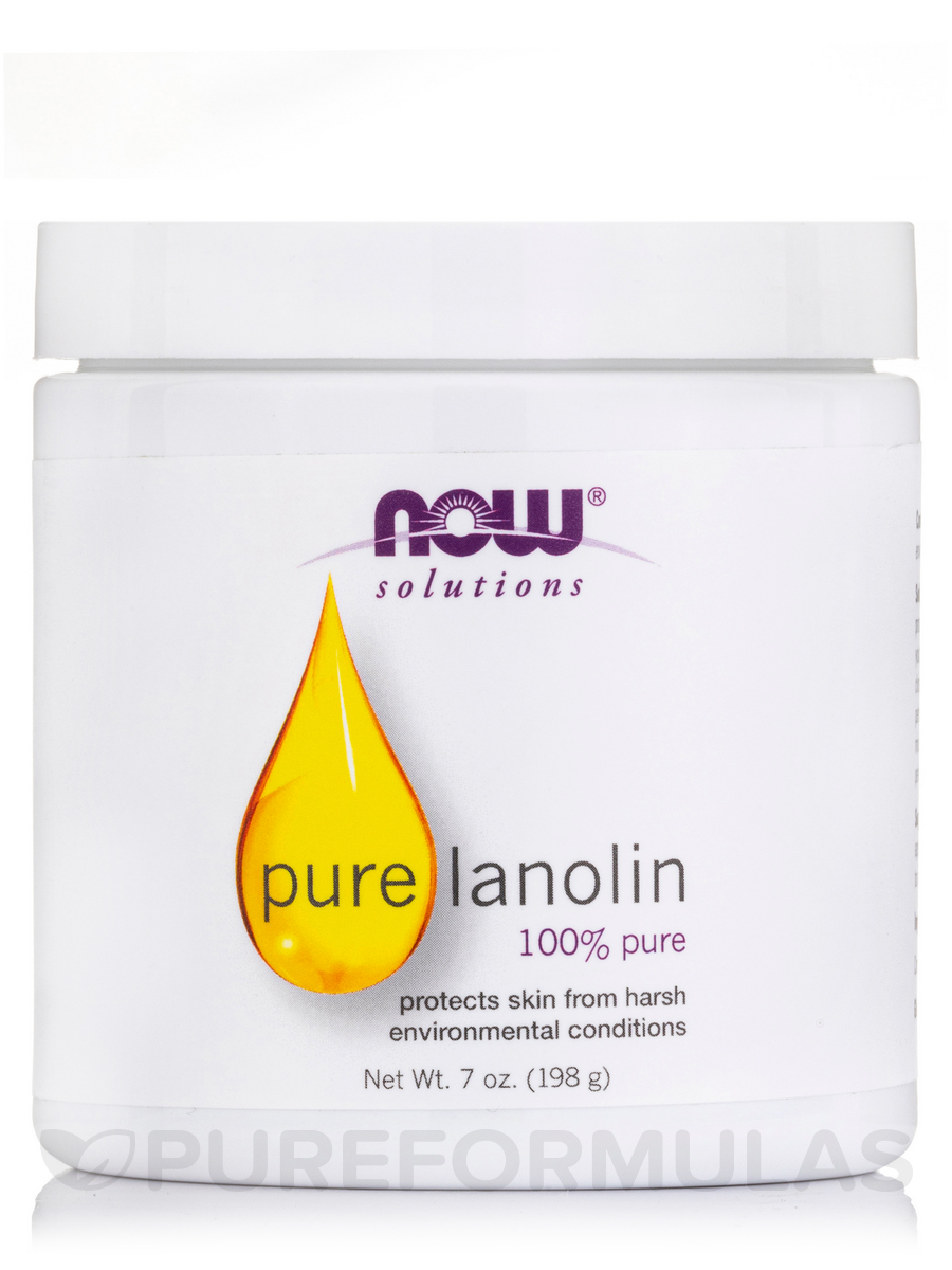 NOW® Solutions - Pure Lanolin (100% Pure) - 7 fl. oz (207 ml)