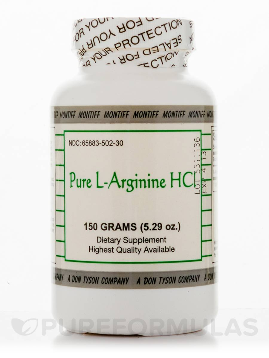Pure L-Arginine HCl - 5.29 oz (150 Grams)