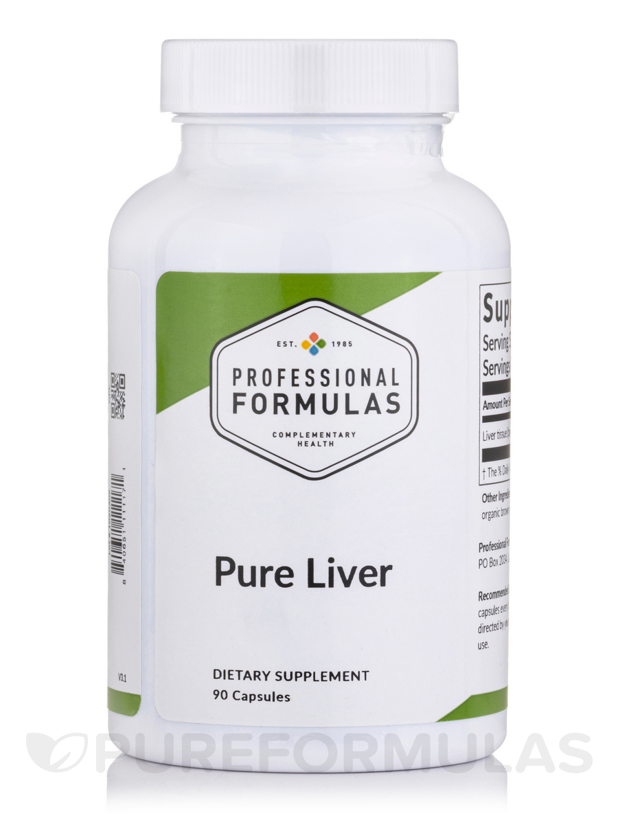 Pure Liver Supplement - 60 Capsules