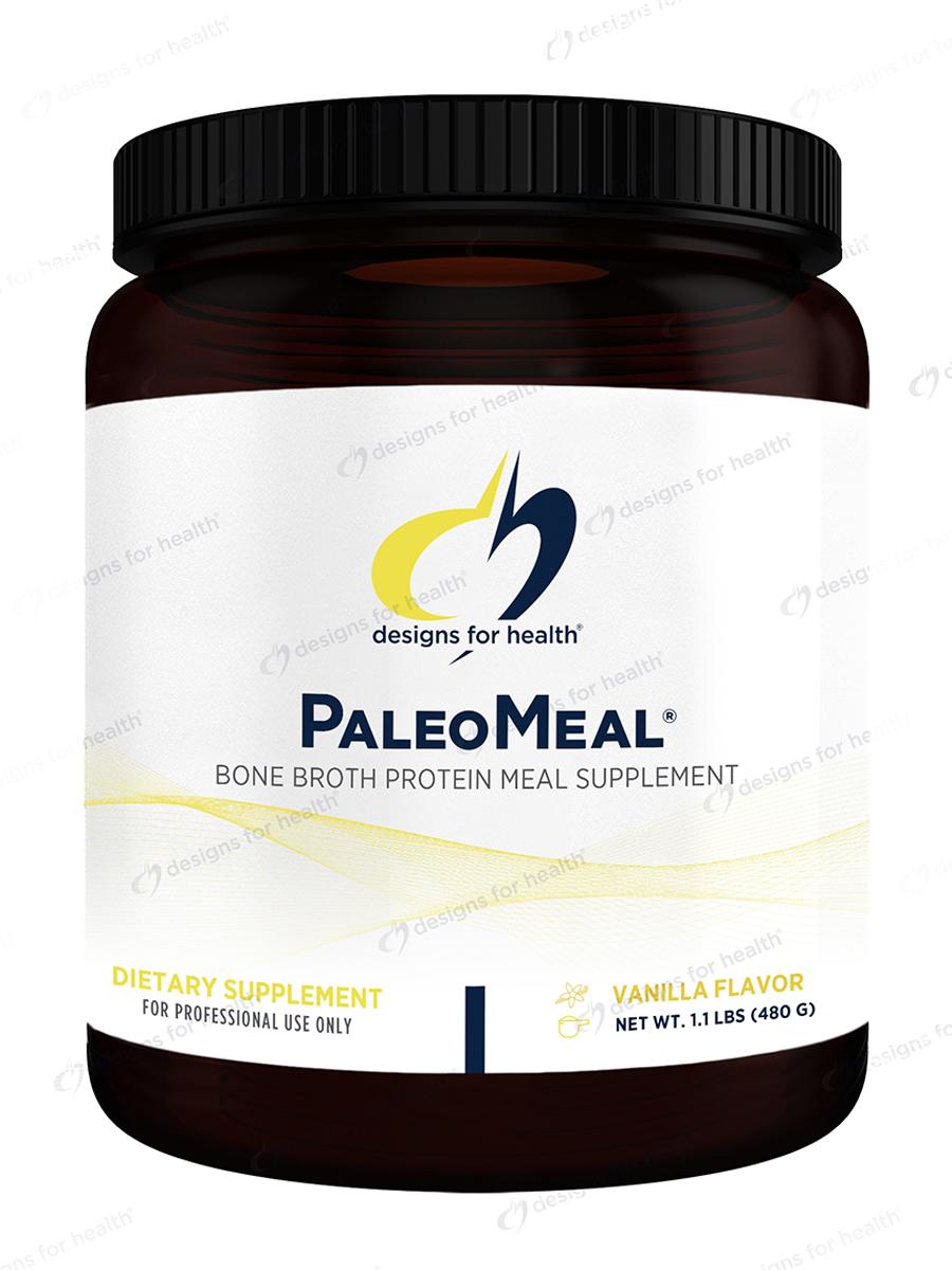 Pure PaleoMeal u00ae Powder, Natural Vanilla Flavor 1 1 lbs (480 Grams)