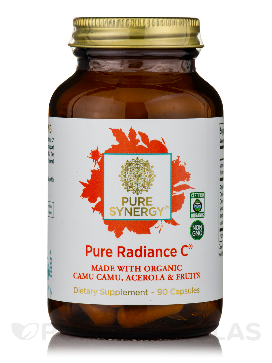 Pure Radiance C® 650 mg - 90 Vegetable Capsules