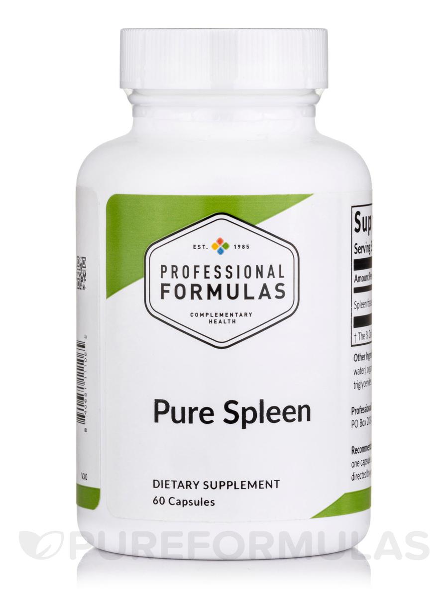 Pure Spleen - 60 Capsules