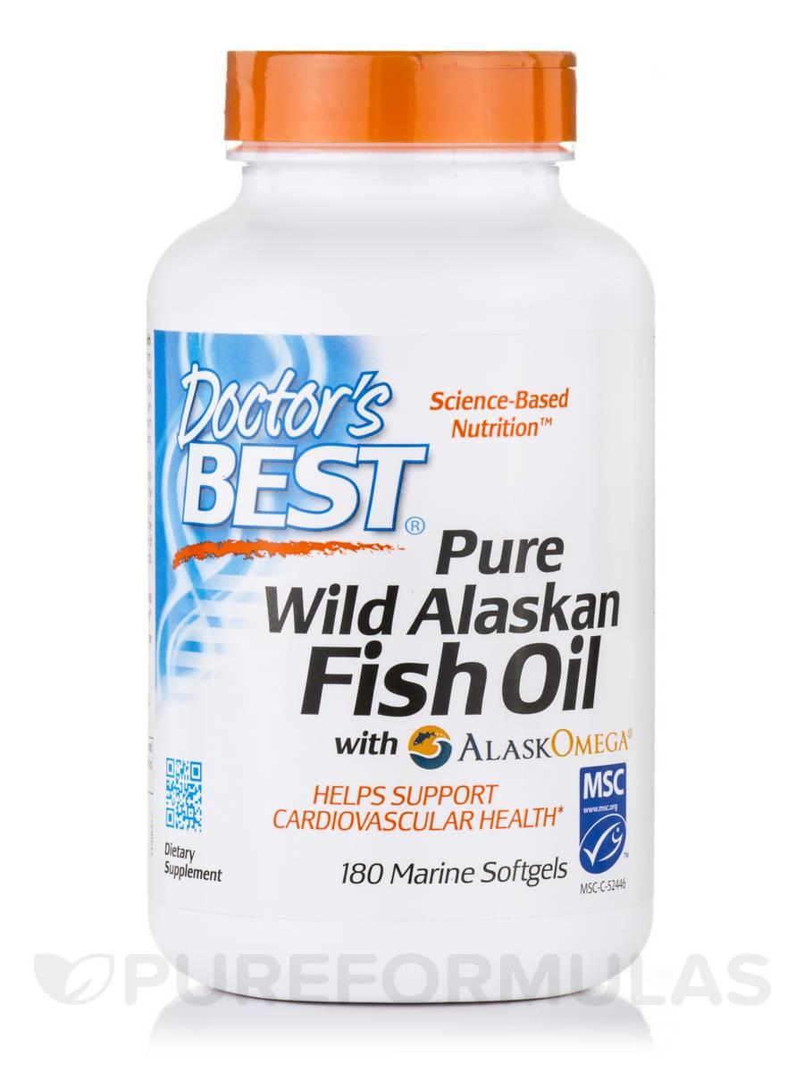 Pure wild alaskan fish oil with alskomega 180 marine for Wild alaskan fish oil