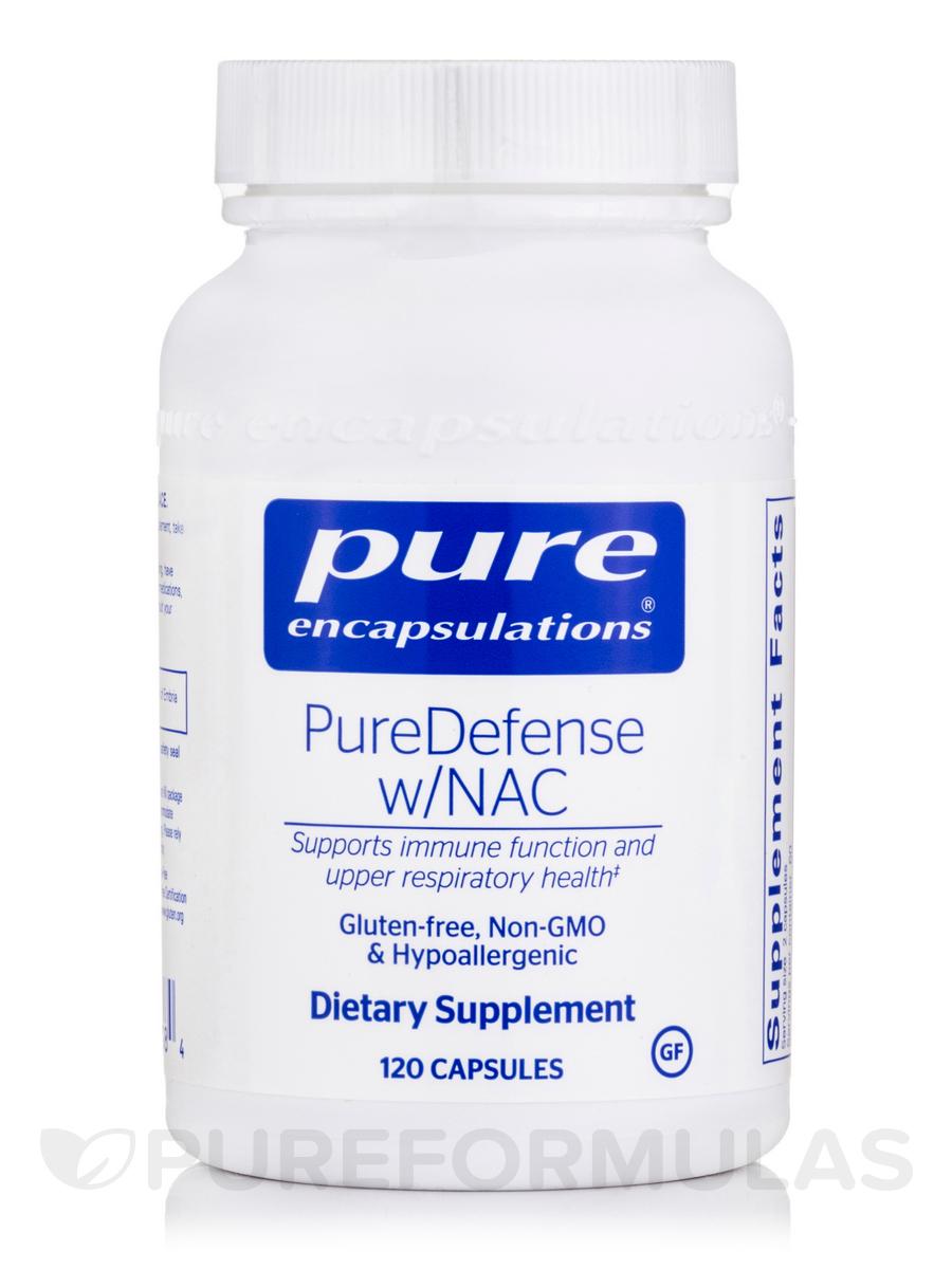 PureDefense w/NAC - 120 Capsules
