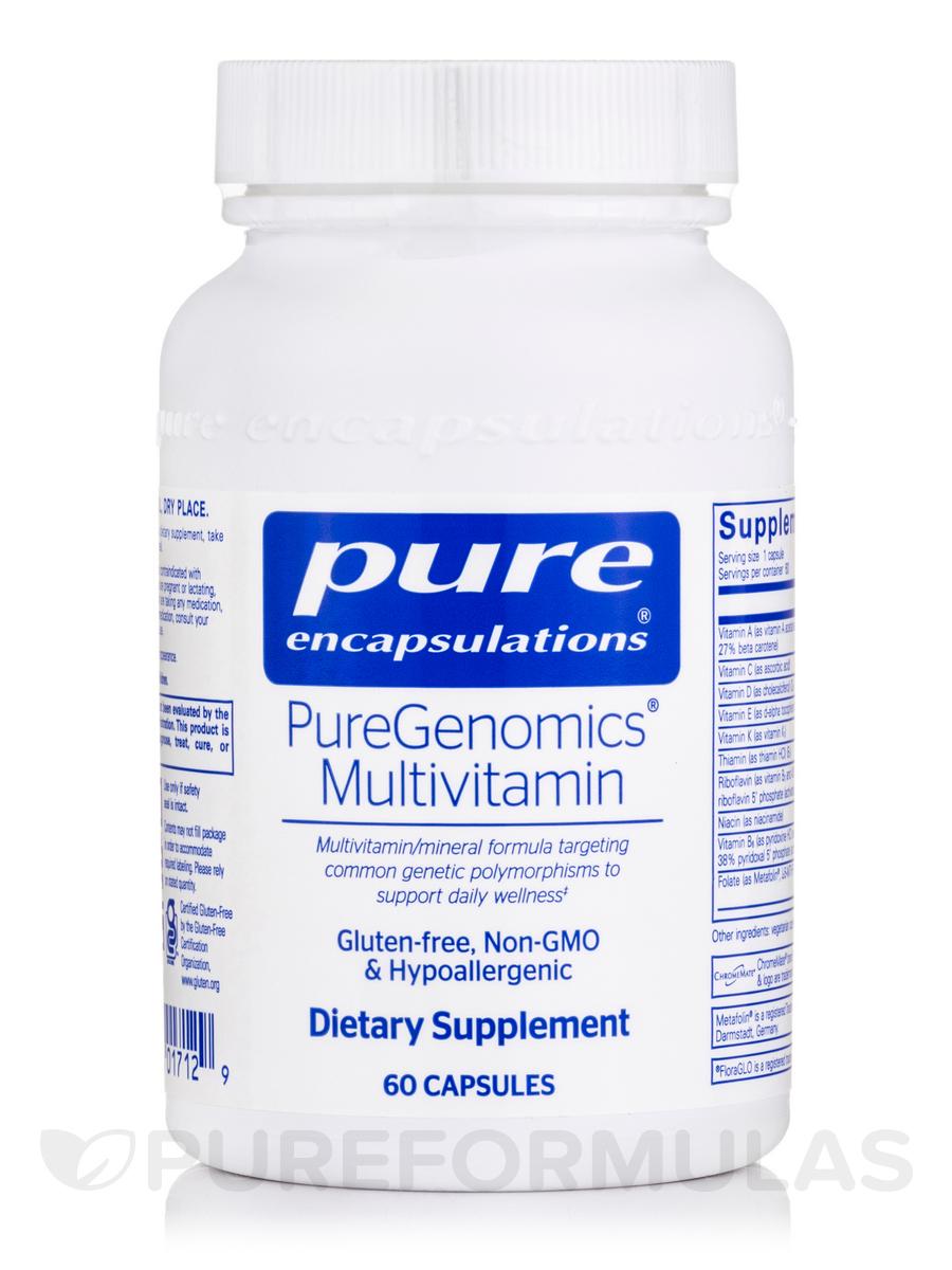 PureGenomics® Multivitamin - 60 Capsules