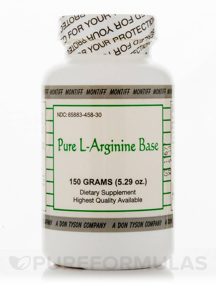 Pure L-Arginine Base Powder - 5.29 oz (150 Grams)