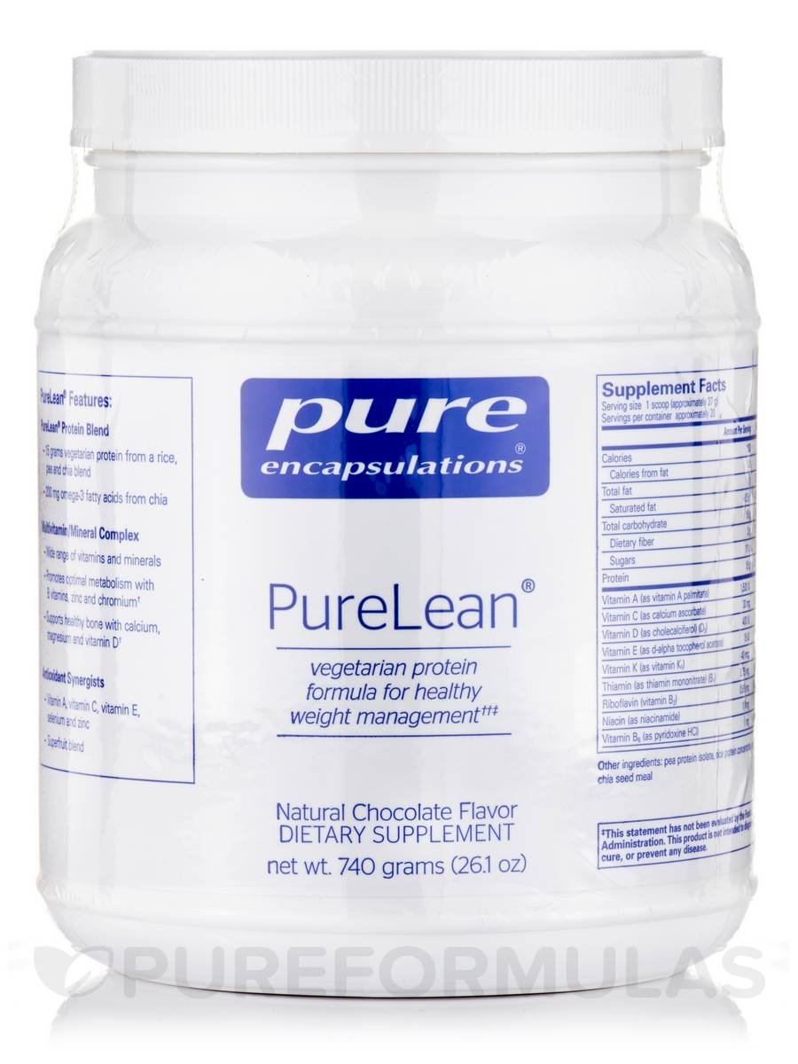 PureLean®, Natural Chocolate Flavor - 26.1 oz (740 Grams)