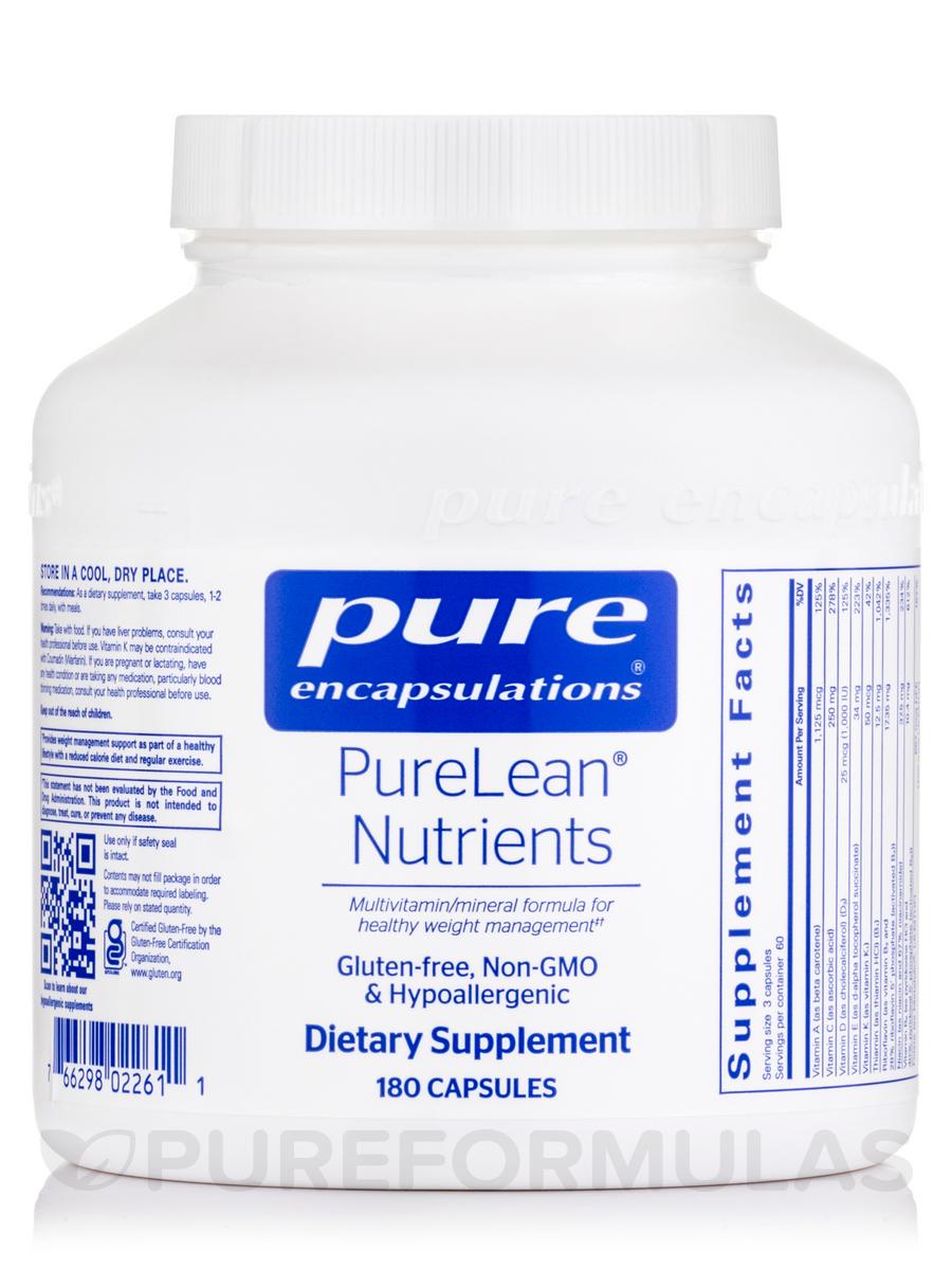 PureLean Nutrients - 180 Capsules