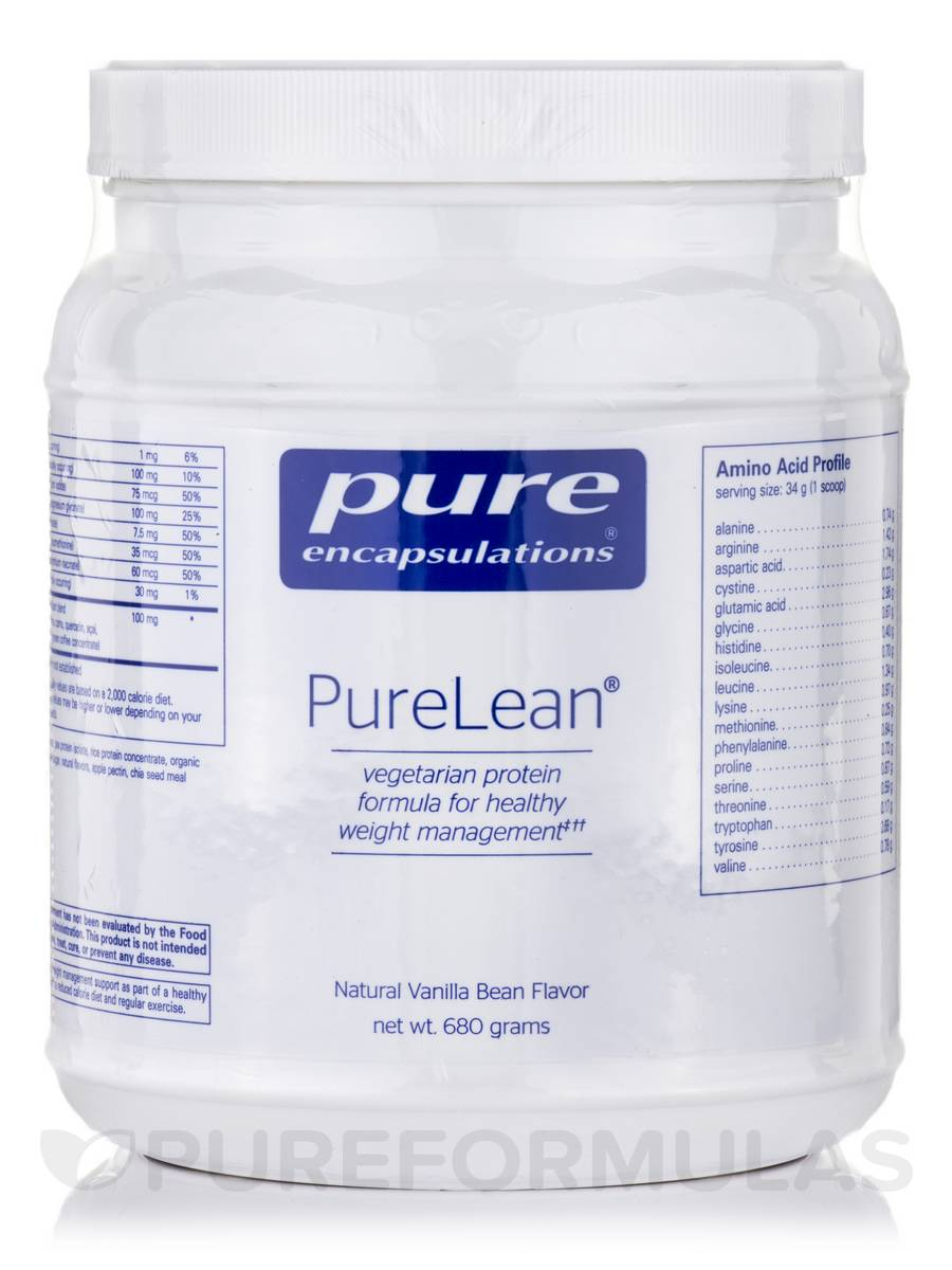 PureLean®, Natural Vanilla Bean Flavor - 680 Grams