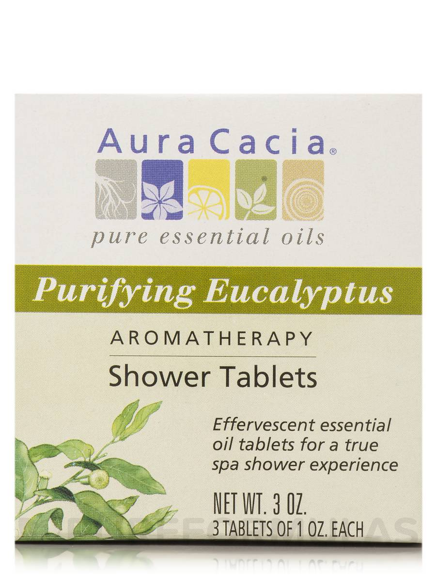Purifying Eucalyptus Shower Tablets - 3 Packets