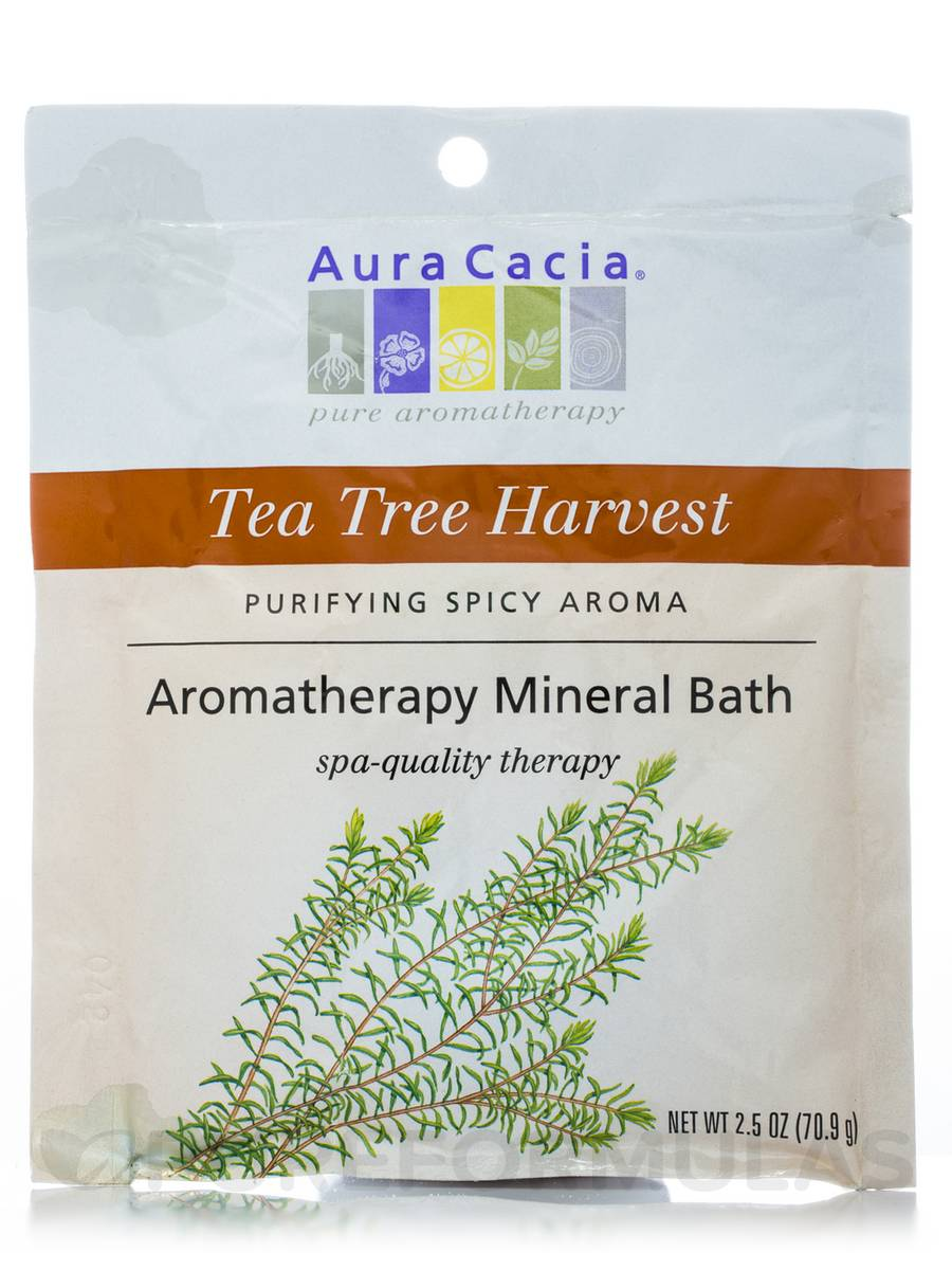 Purifying Tea Tree Aromatherapy Mineral Bath (Tea Tree Harvest) - 2.5 oz (70.9 Grams)