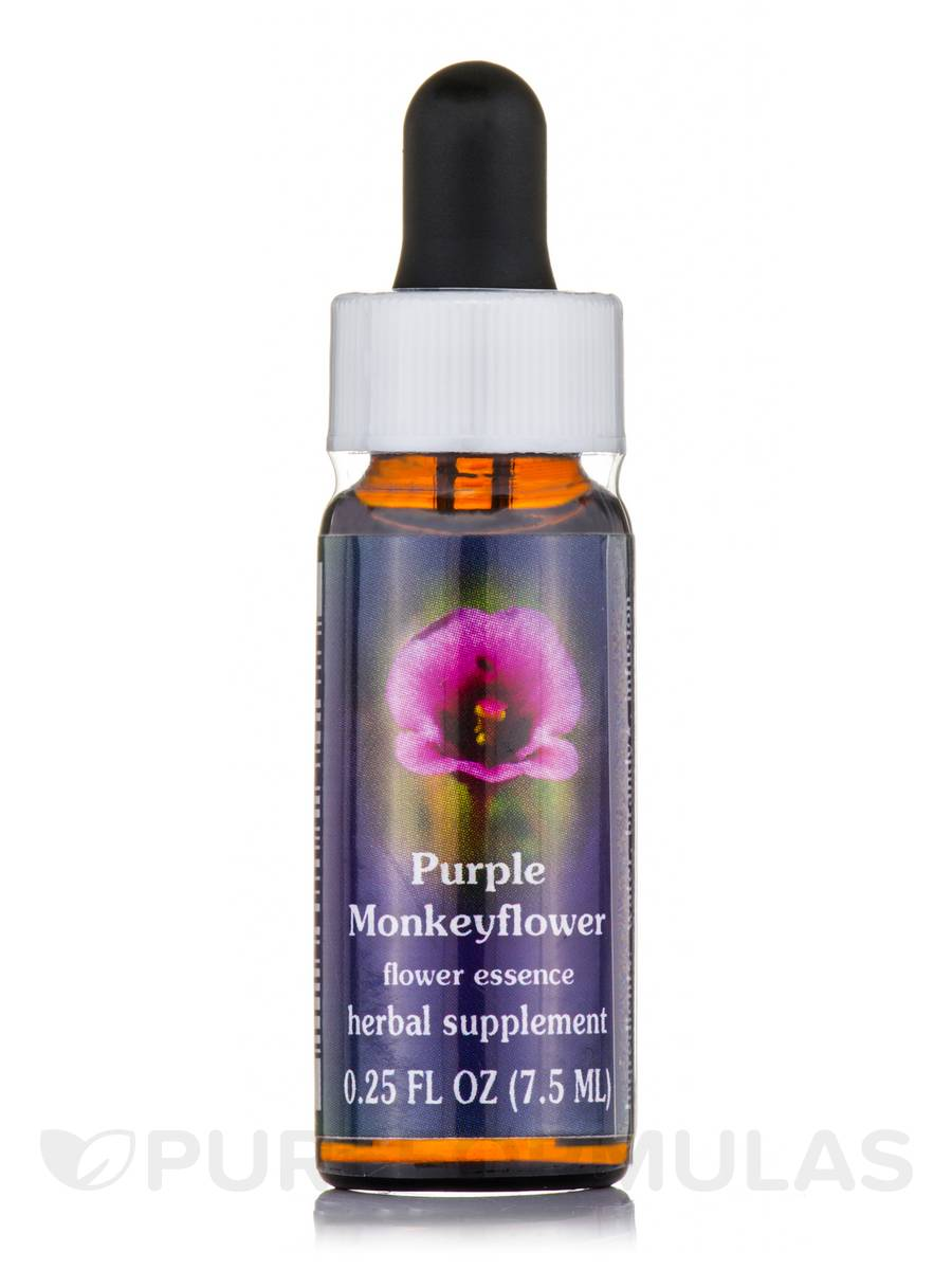 Purple Monkeyflower Dropper - 0.25 fl. oz (7.5 ml)