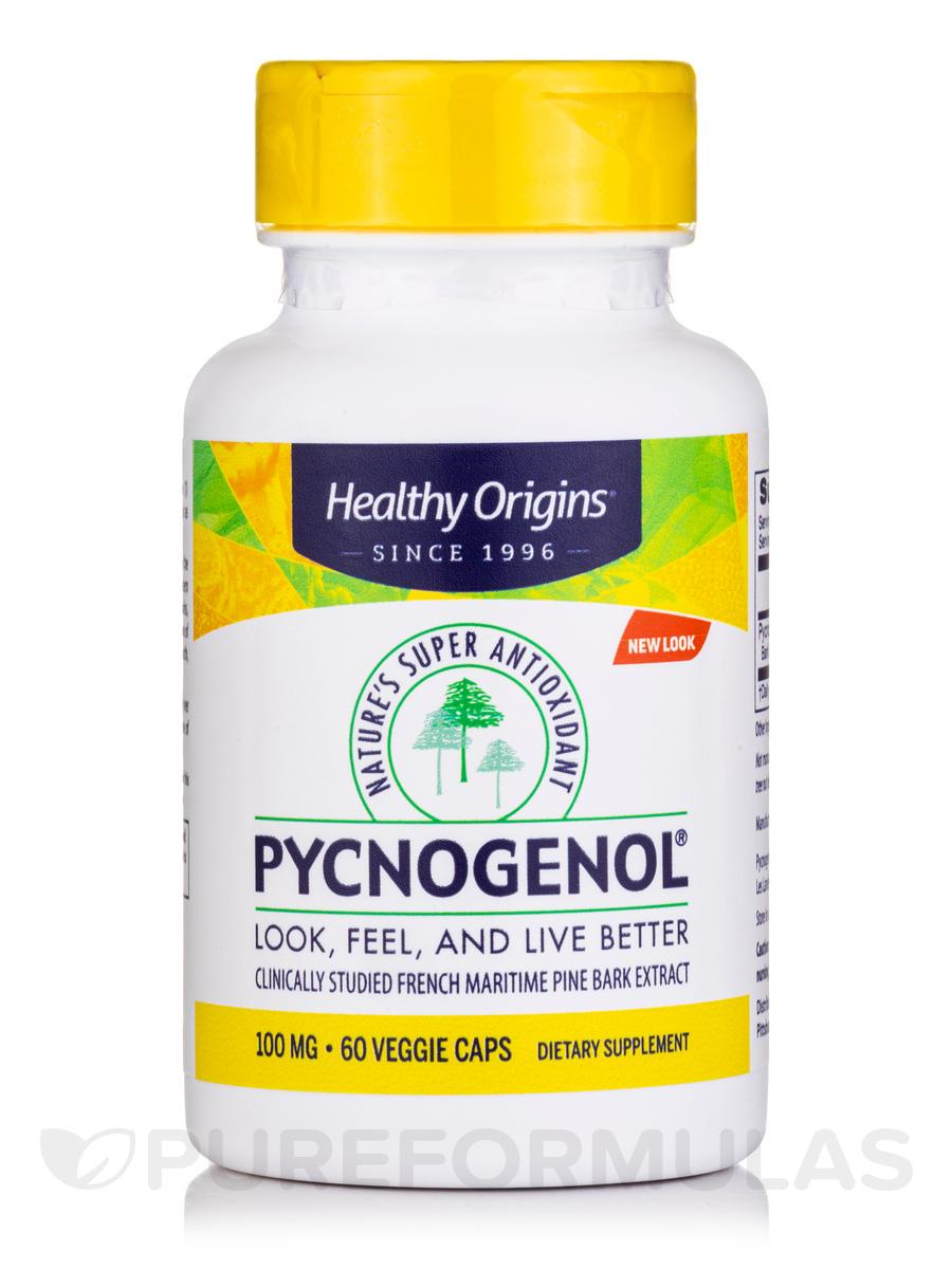 Pycnogenol 100 mg - 60 Vegetarian Capsules