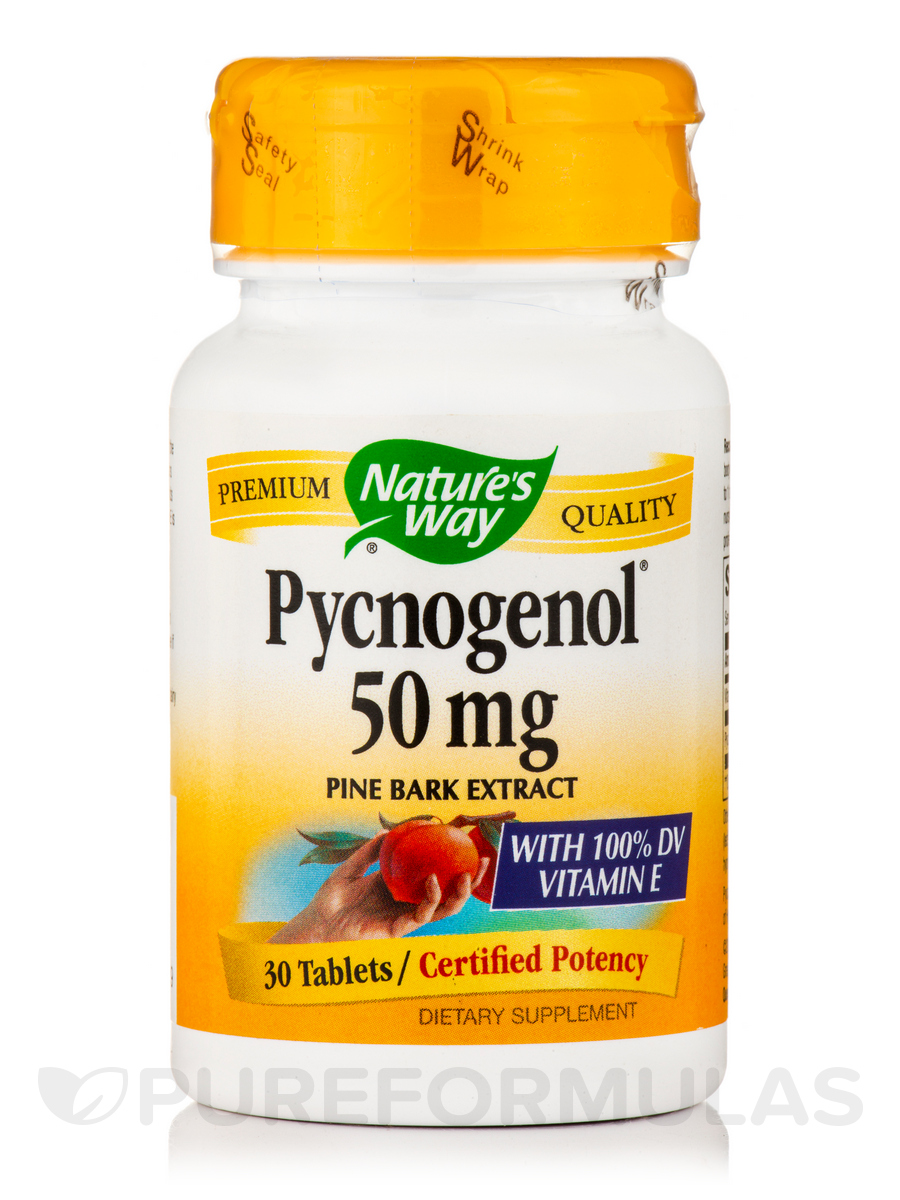 Pycnogenol 50 mg - 30 Tablets