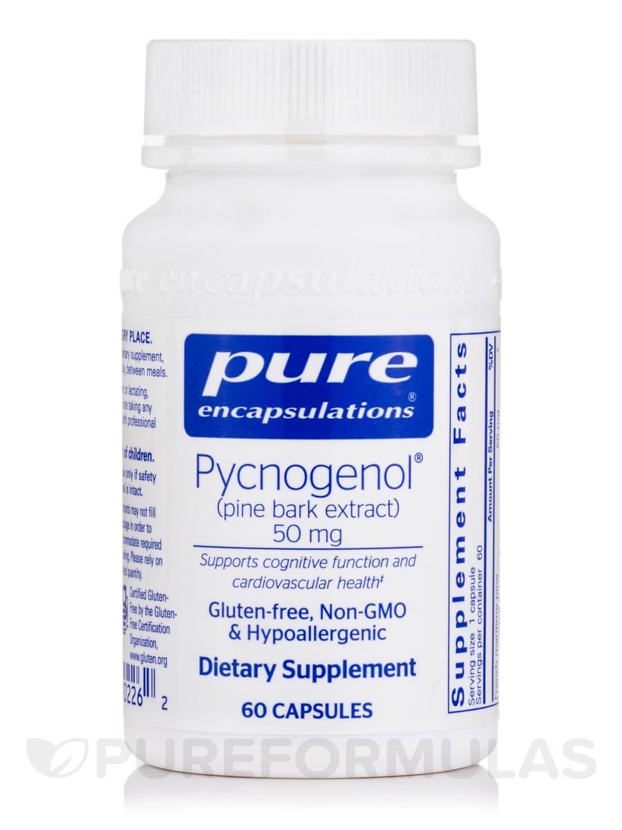 Pycnogenol 50 Mg 60 Capsules