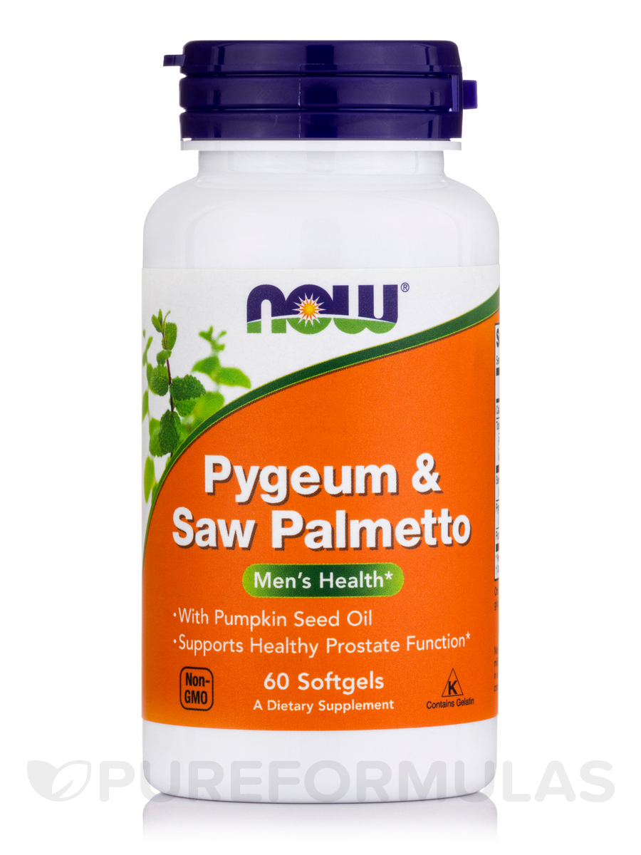 Pygeum & Saw Palmetto - 60 Softgels