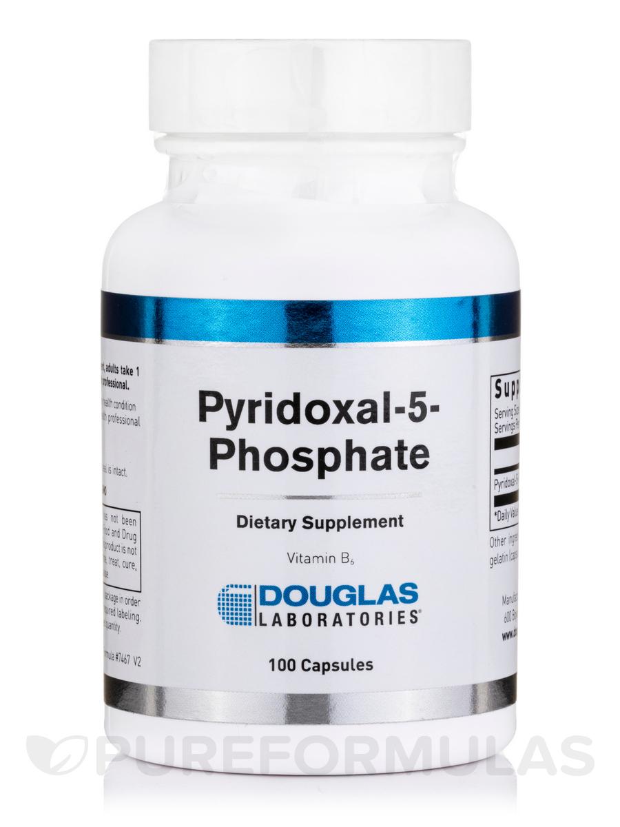 Pyridoxal-5-Phosphate - 100 Capsules