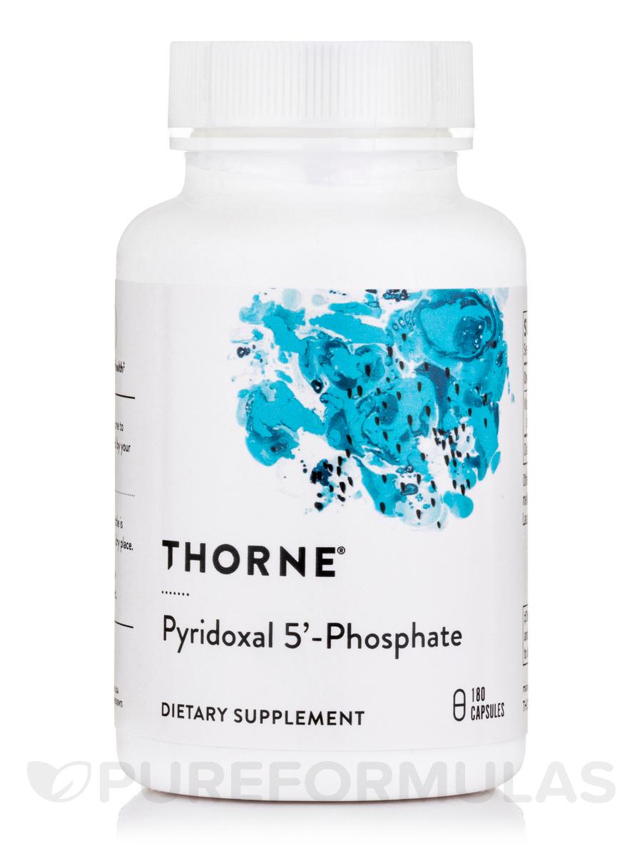 Pyridoxal 5'-Phosphate - 180 Vegetarian Capsules