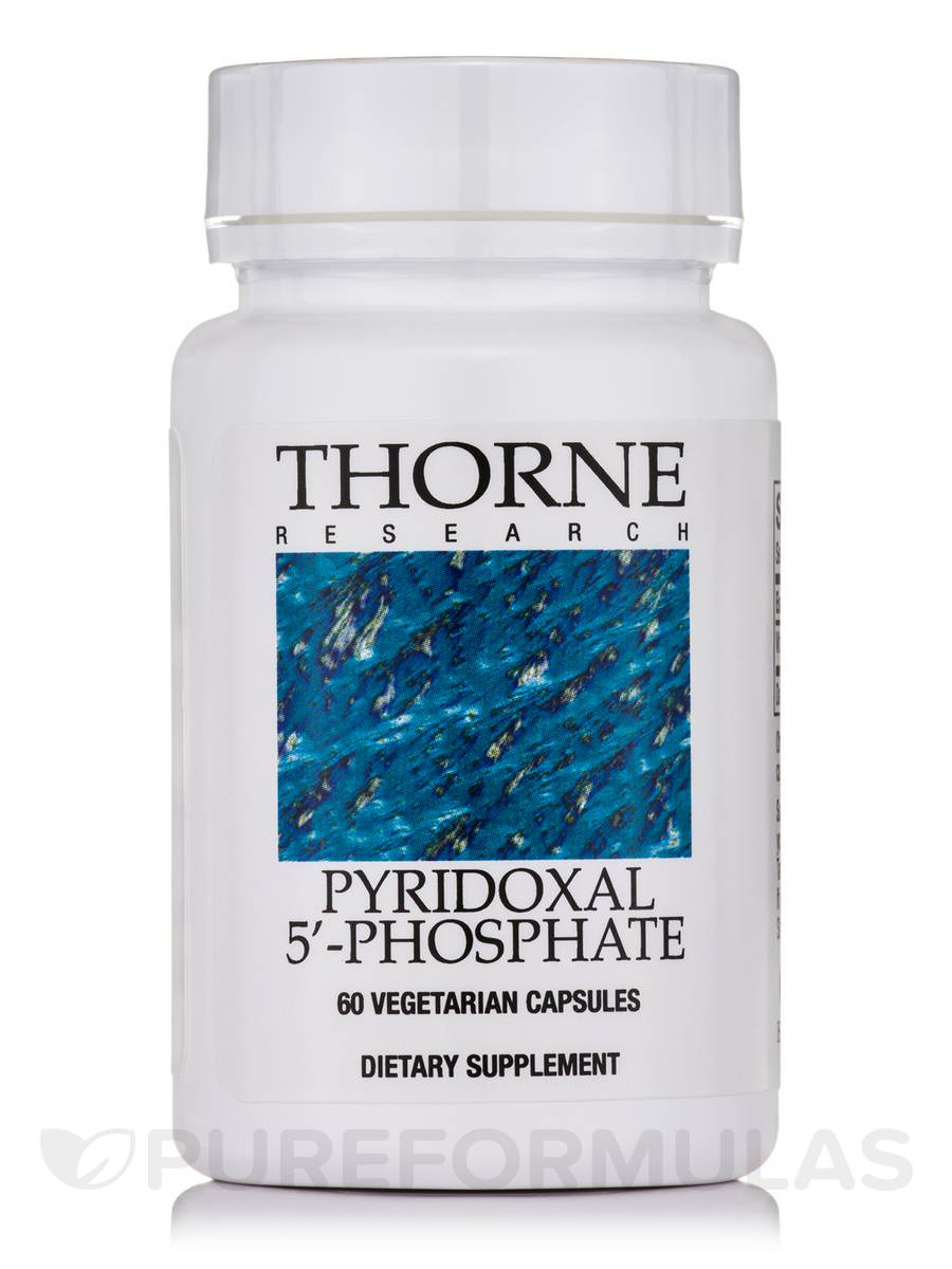 Pyridoxal 5'-Phosphate - 60 Vegetarian Capsules