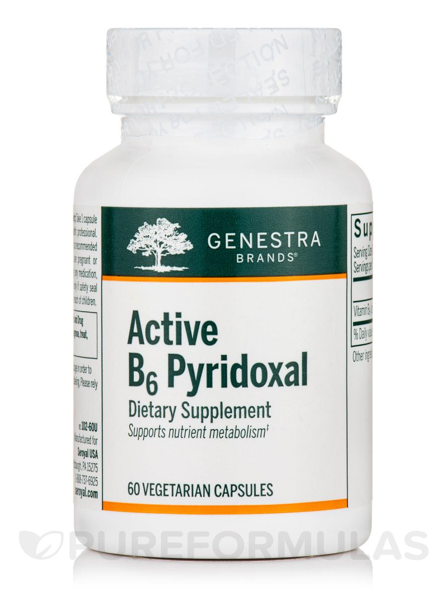 B6 Pyridoxal - 60 Vegetable Capsules