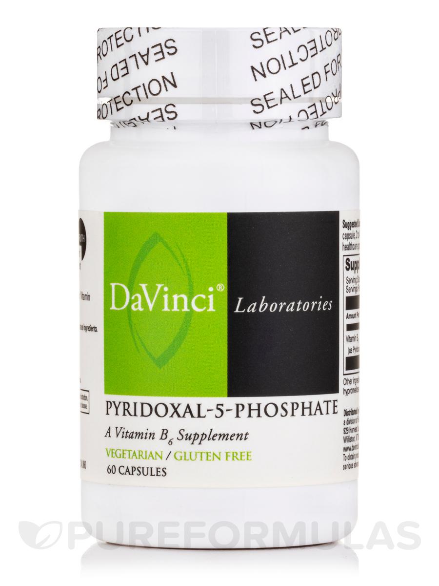 Pyridoxal-5-Phosphate - 60 Vegetarian Capsules