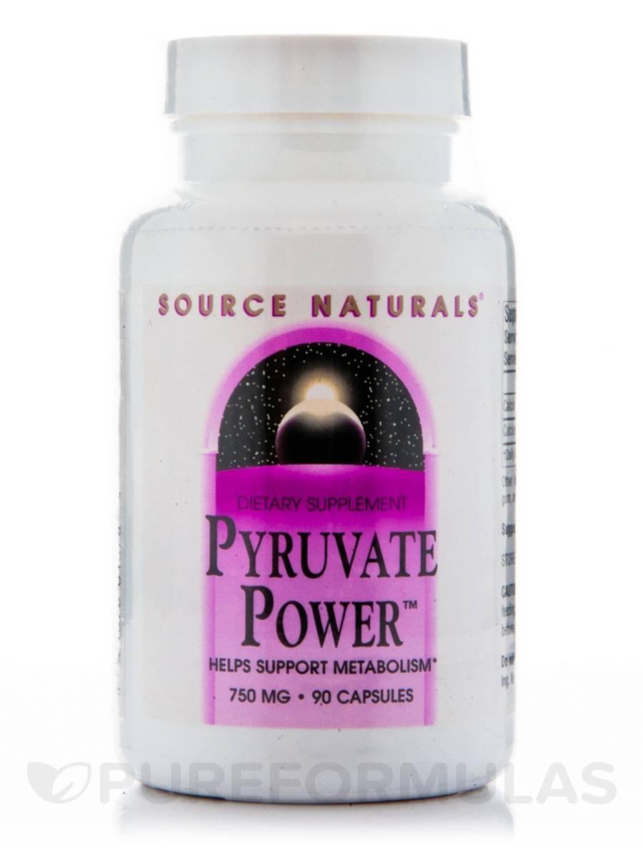 Pyruvate Power 750 mg - 90 Capsules