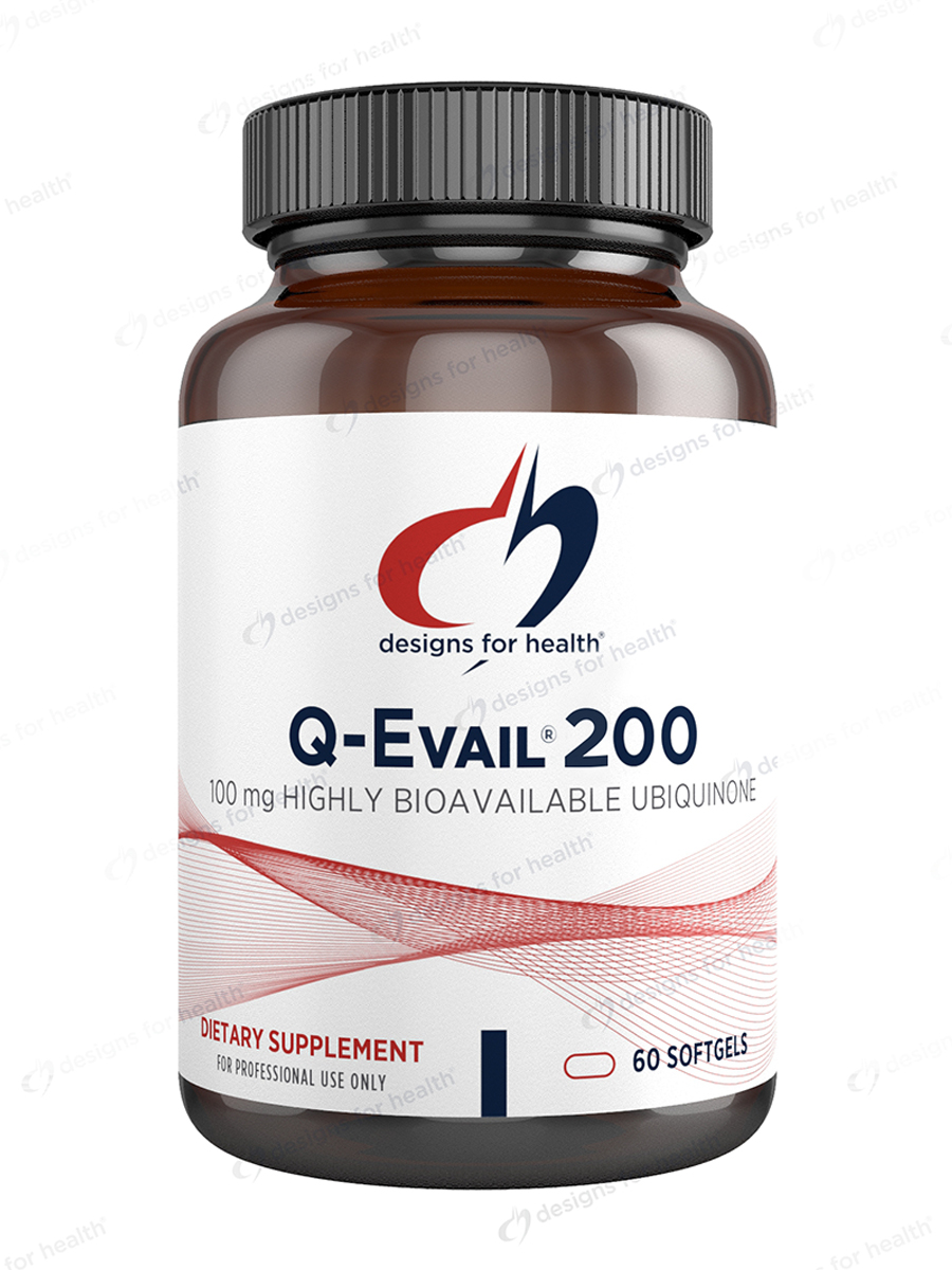 Q evail 200 60 softgels for Healthy home designs