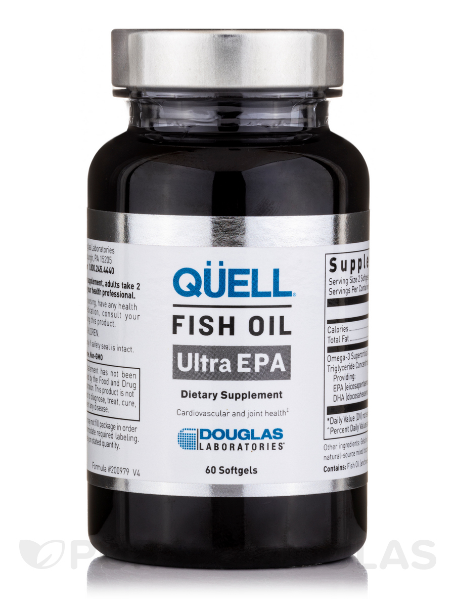 Quell Fish Oil High EPA - 60 Softgels