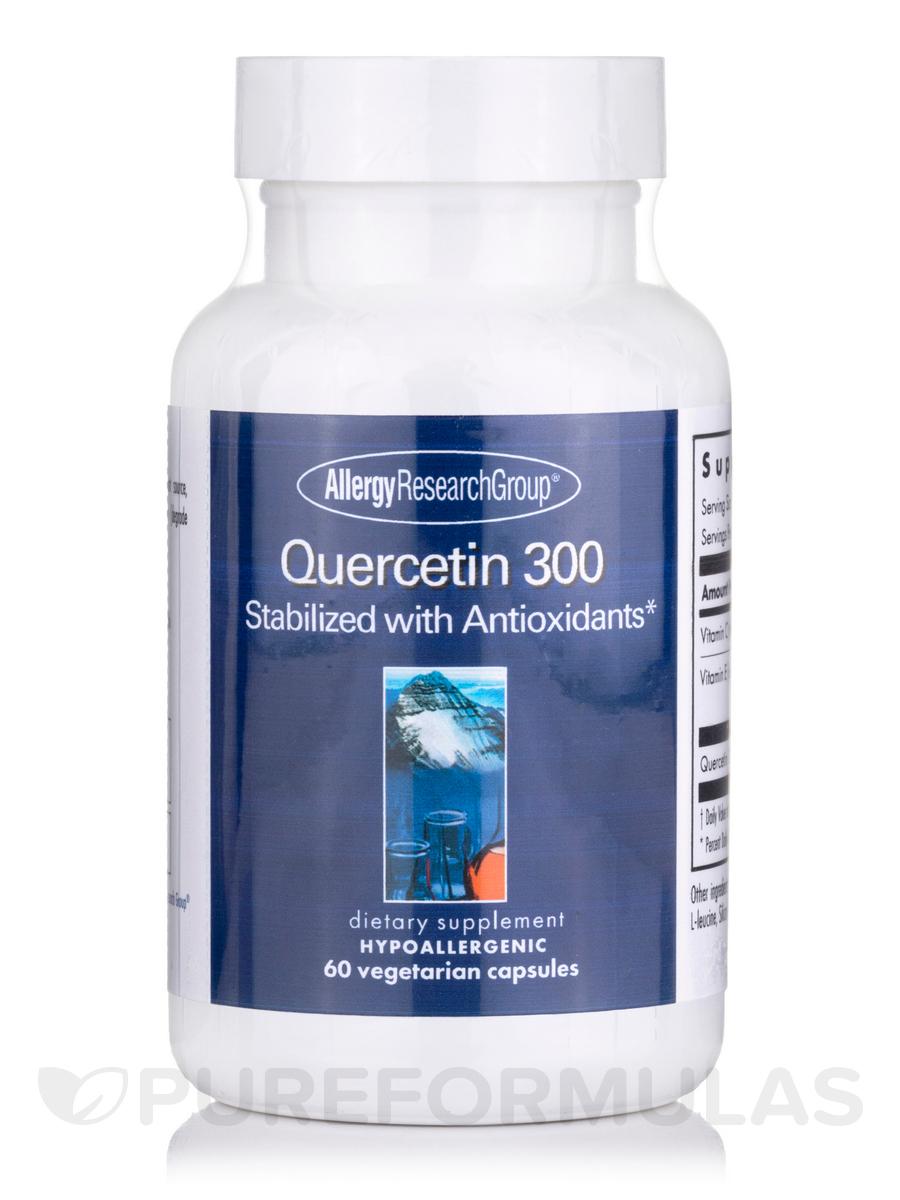 Quercetin 300 - 60 Vegetarian Capsules