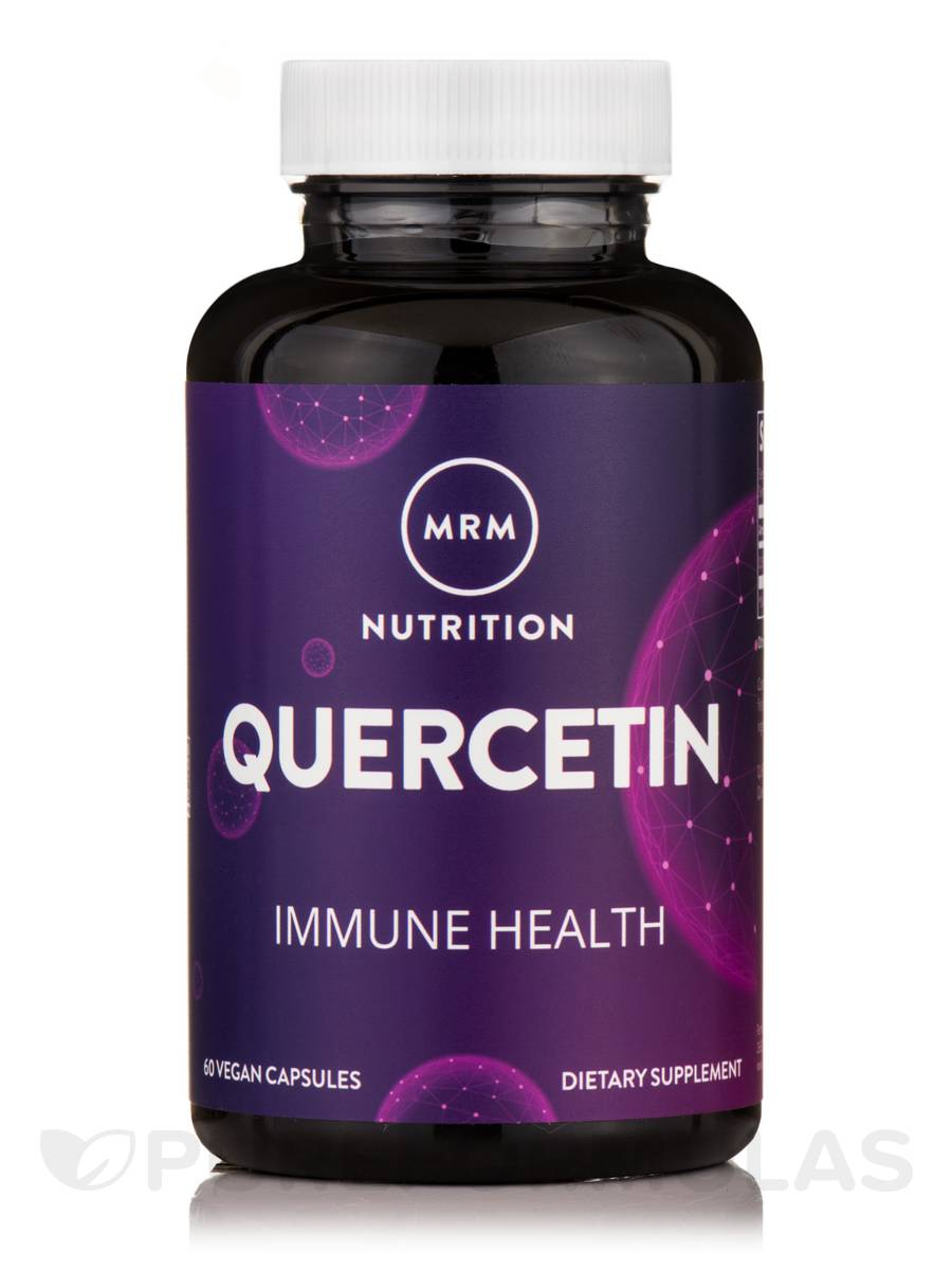Quercetin 500 mg (Enhanced Absorption) - 60 Vegetarian Capsules