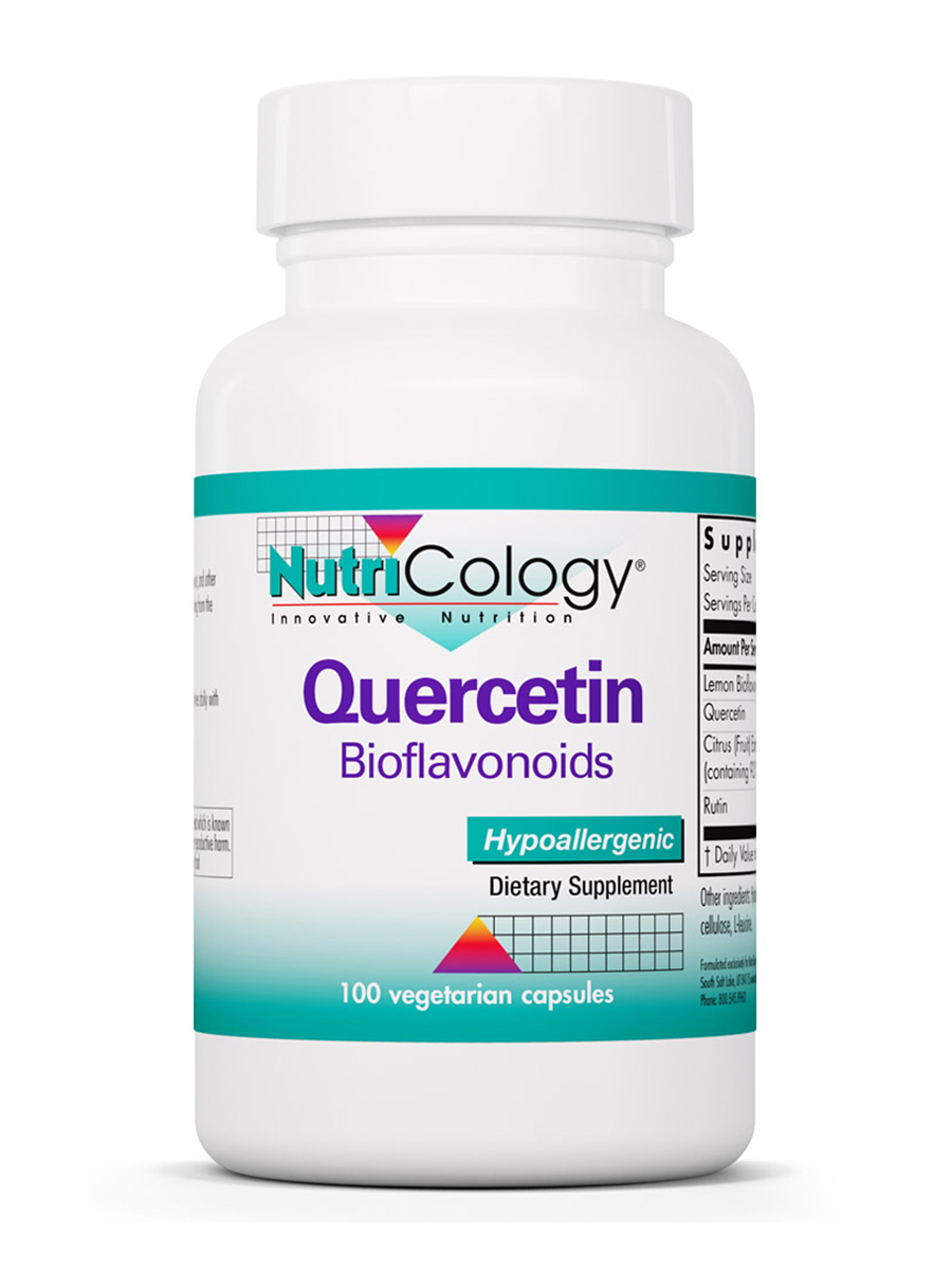 Quercetin Bioflavonoids - 100 Vegetarian Capsules