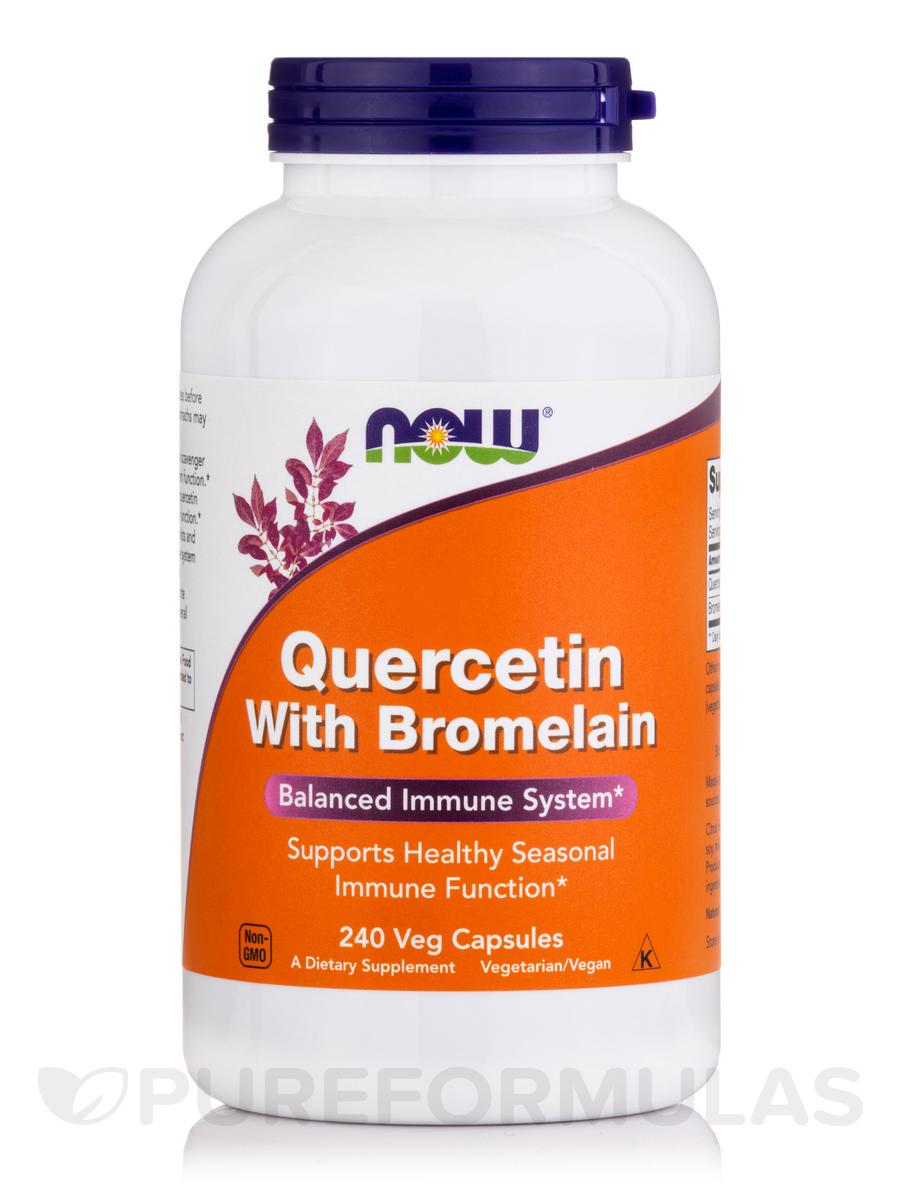 Quercetin with Bromelain - 240 Veg Capsules